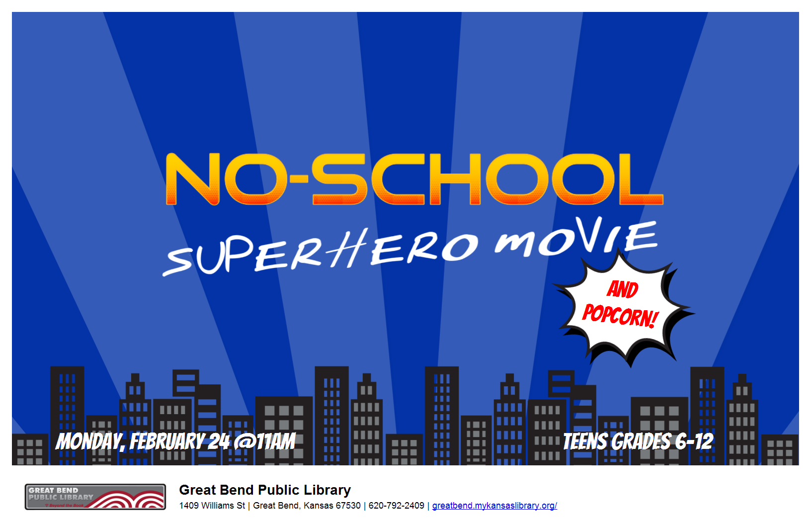 No-School Superhero Movie