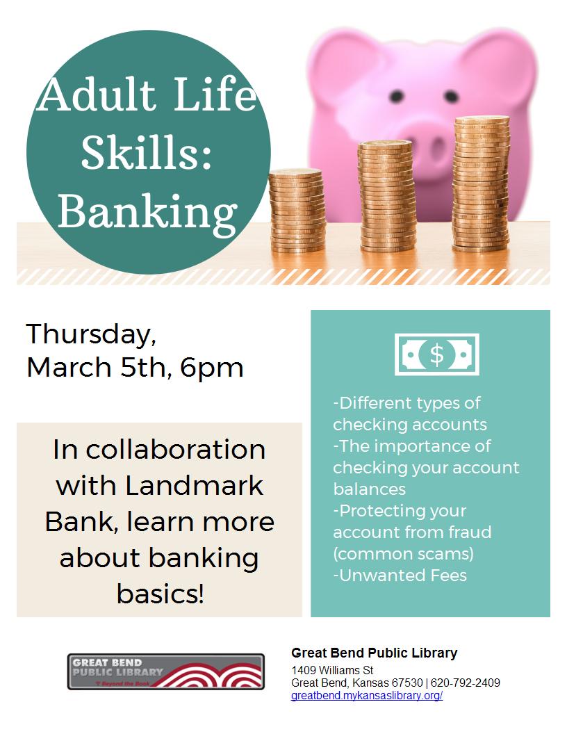 Adult Life Skills: Banking