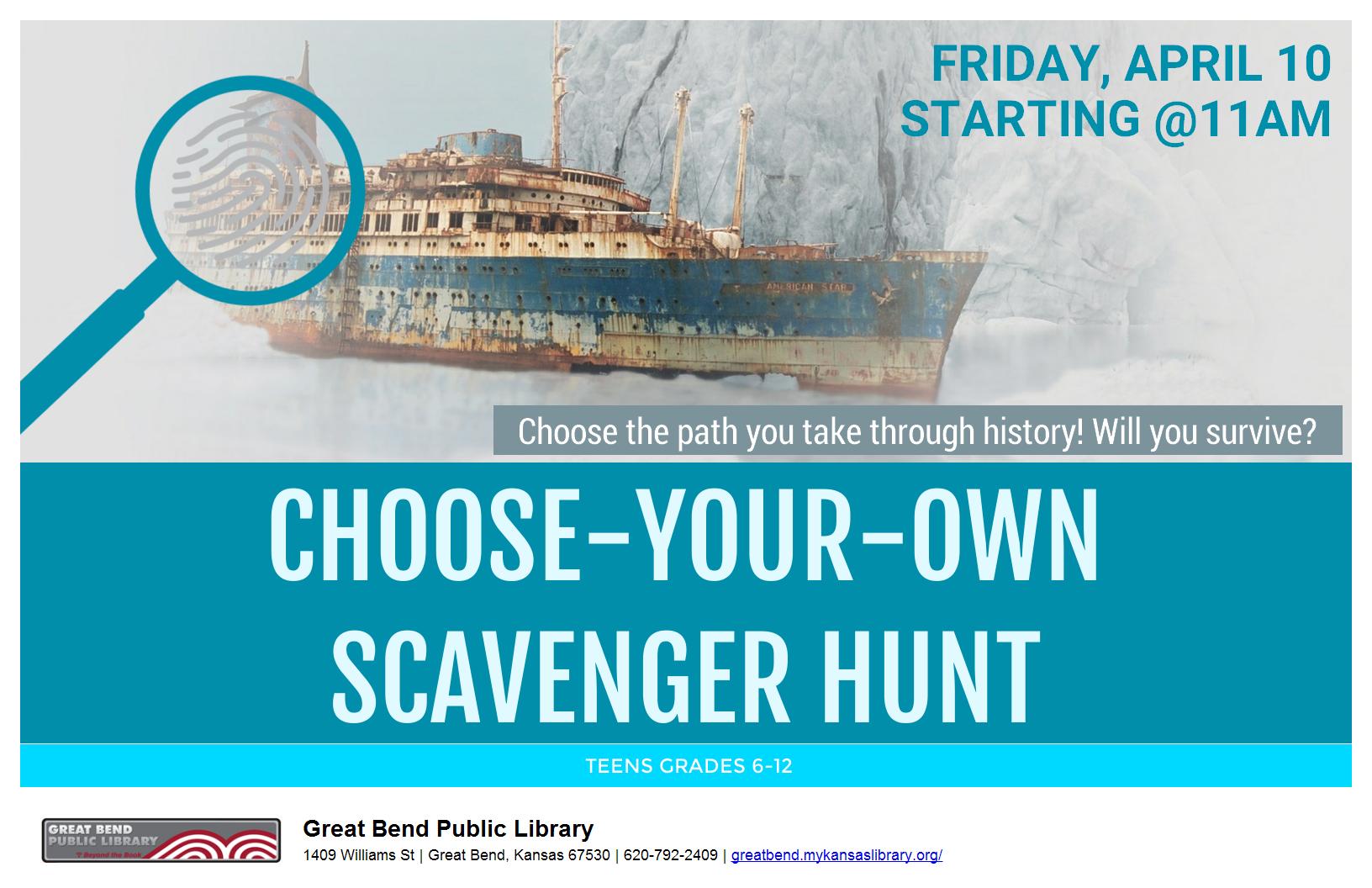 Choose-Your-Own Scavenger Hunt