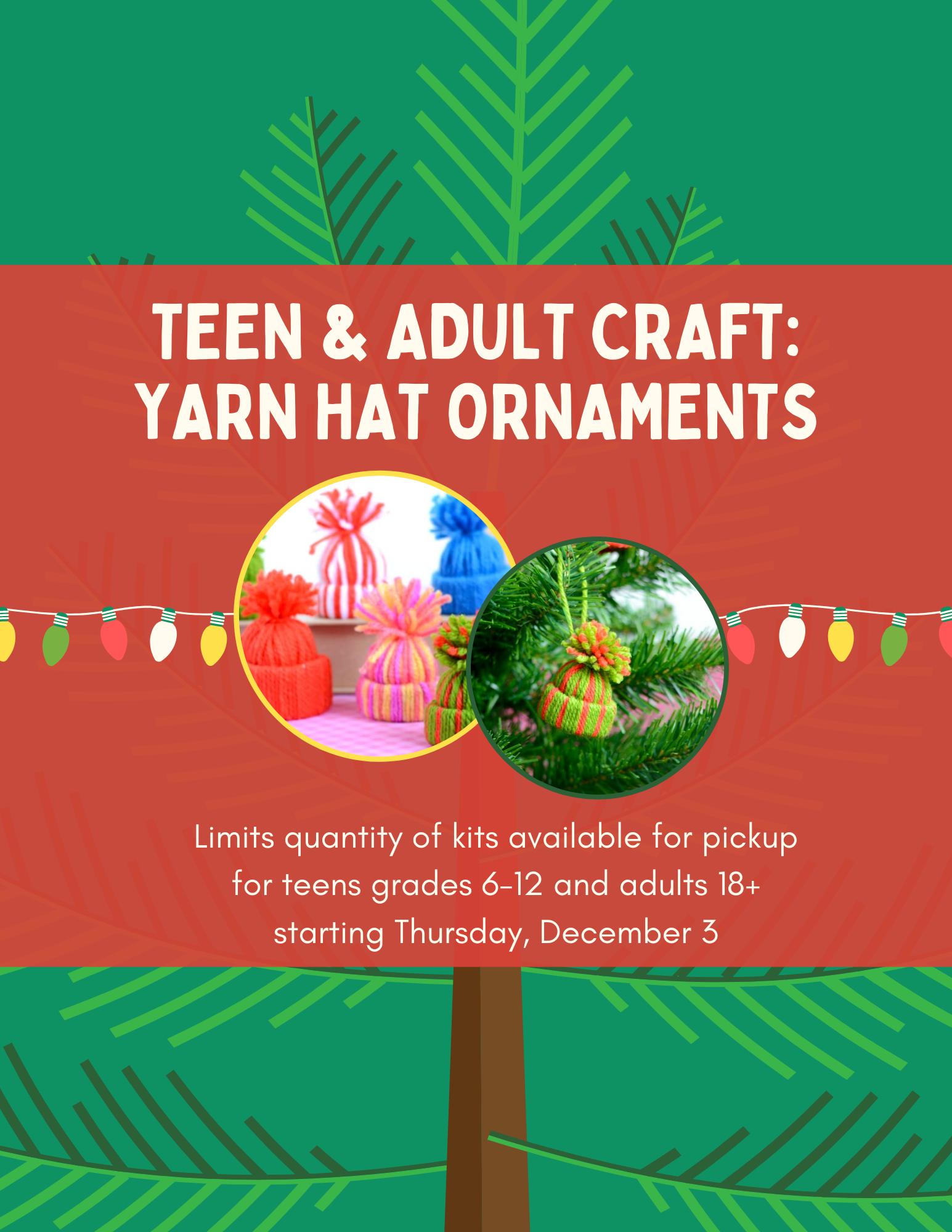 Teen & Adult Craft: Take & Make