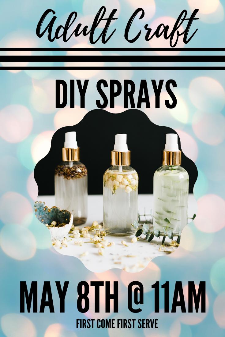 Adult Craft: DIY Spray
