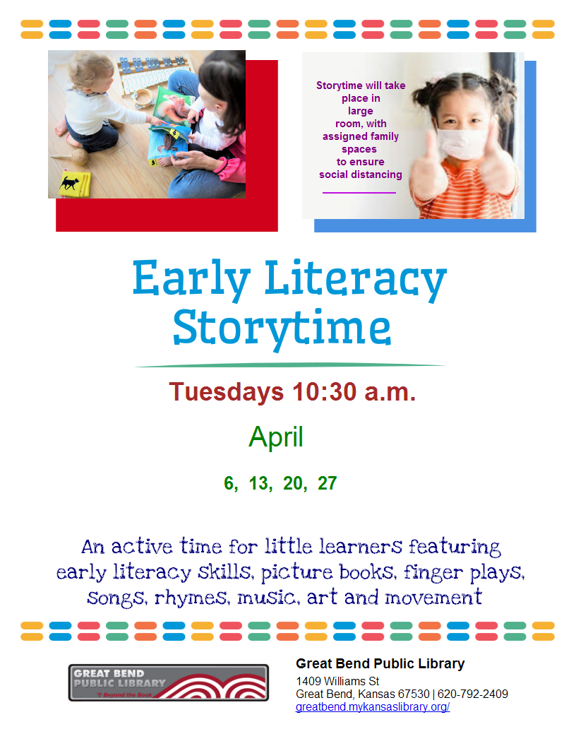 Early Literacy Story Time In-Person