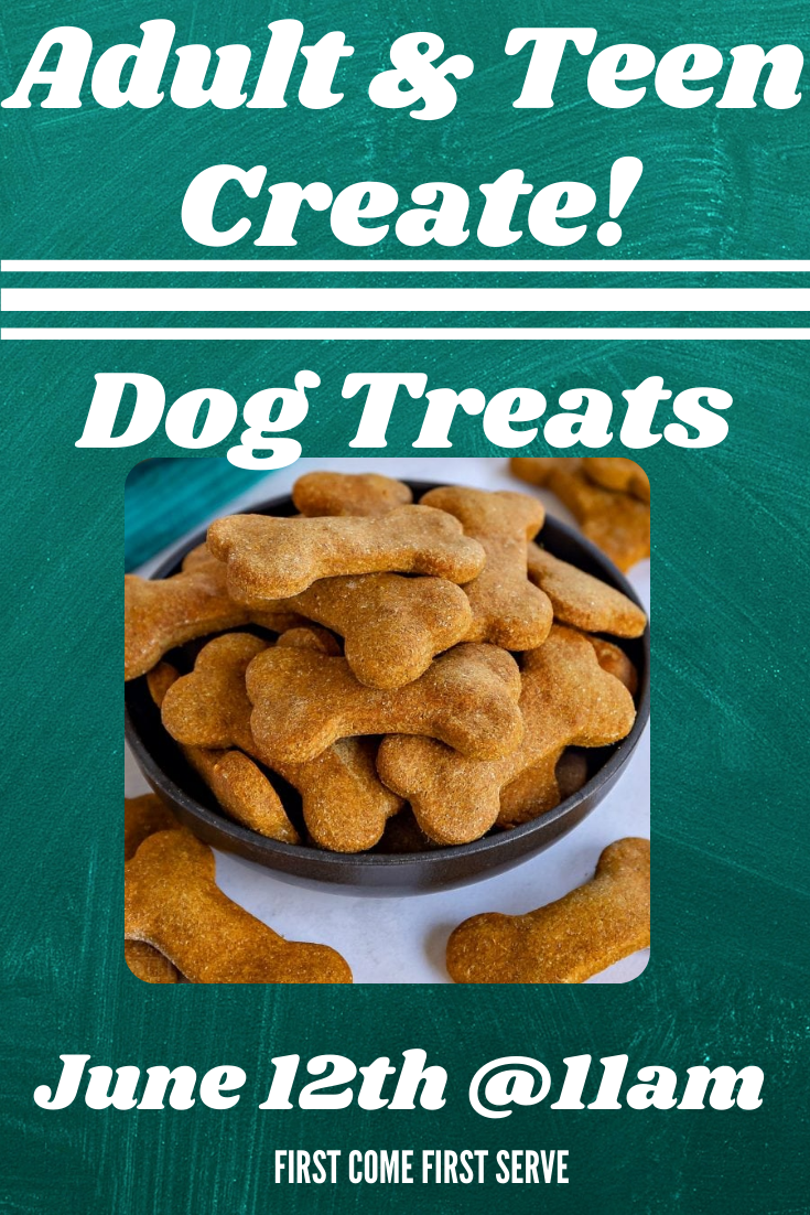 Teen and Adult Create! Dog Treats