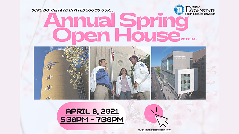 Office of Student Admissions Virtual Spring Open House