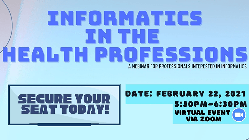 Virtual Medical Informatics Webinar
