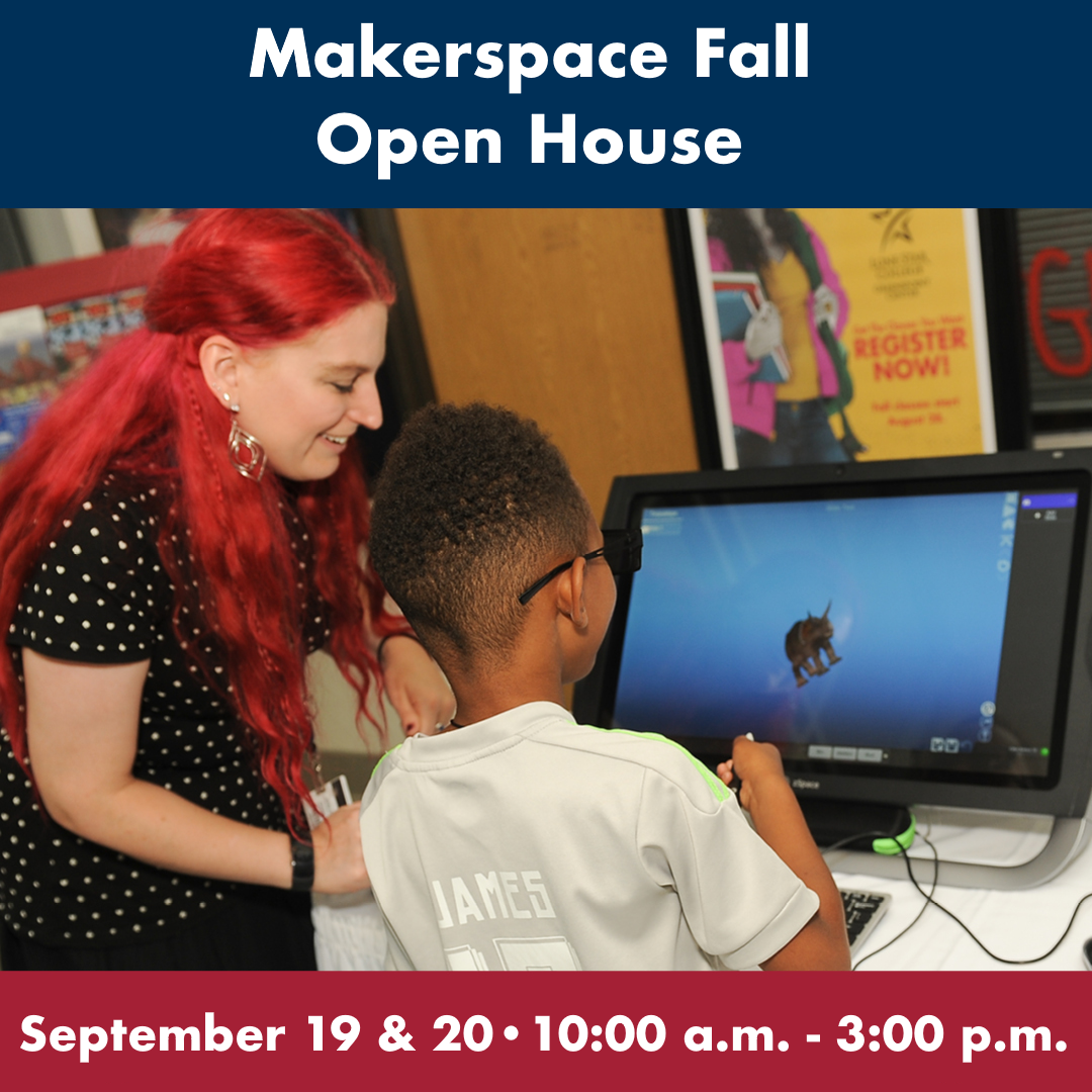 Makerspace Fall Open House
