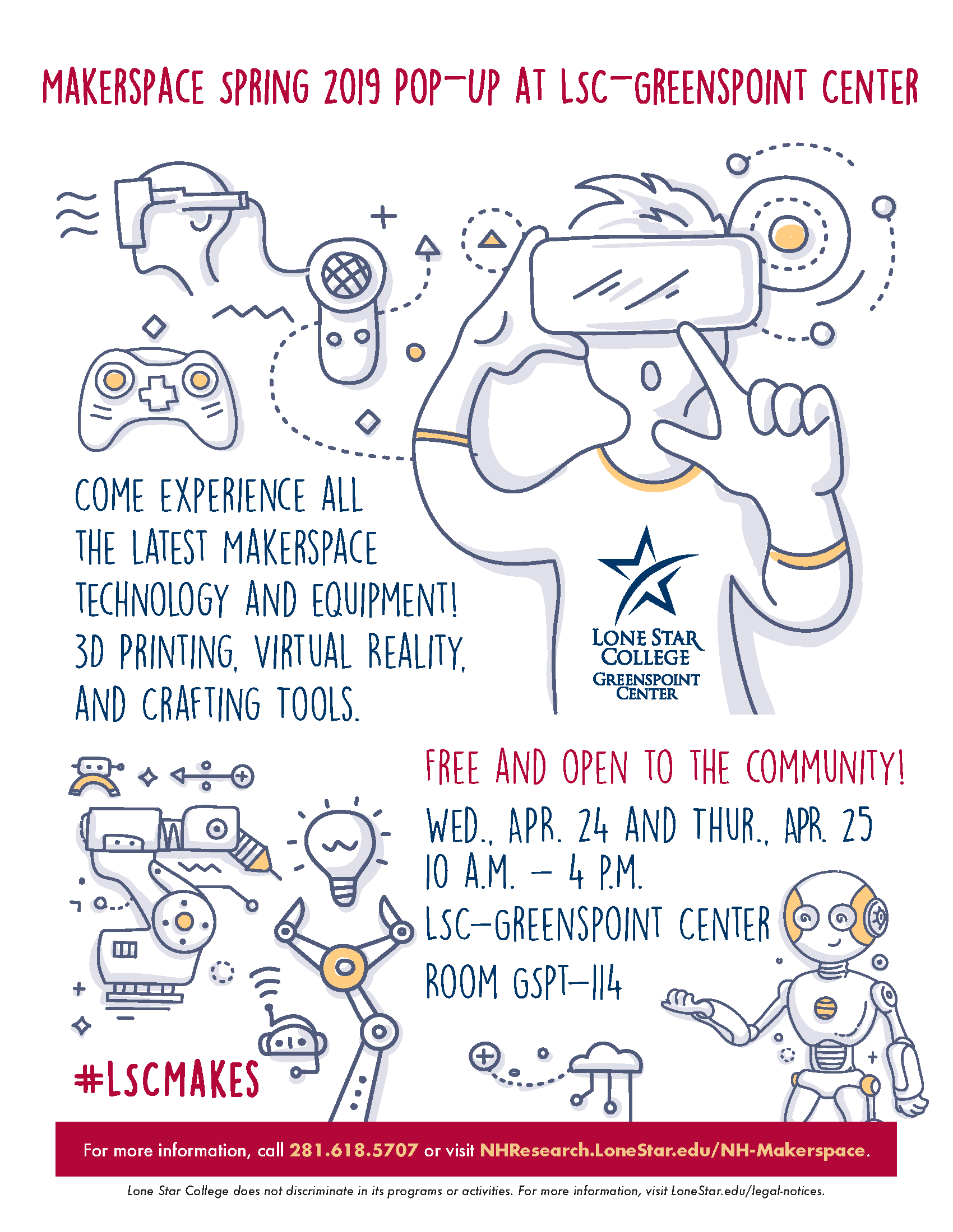 Makerspace Spring Open House