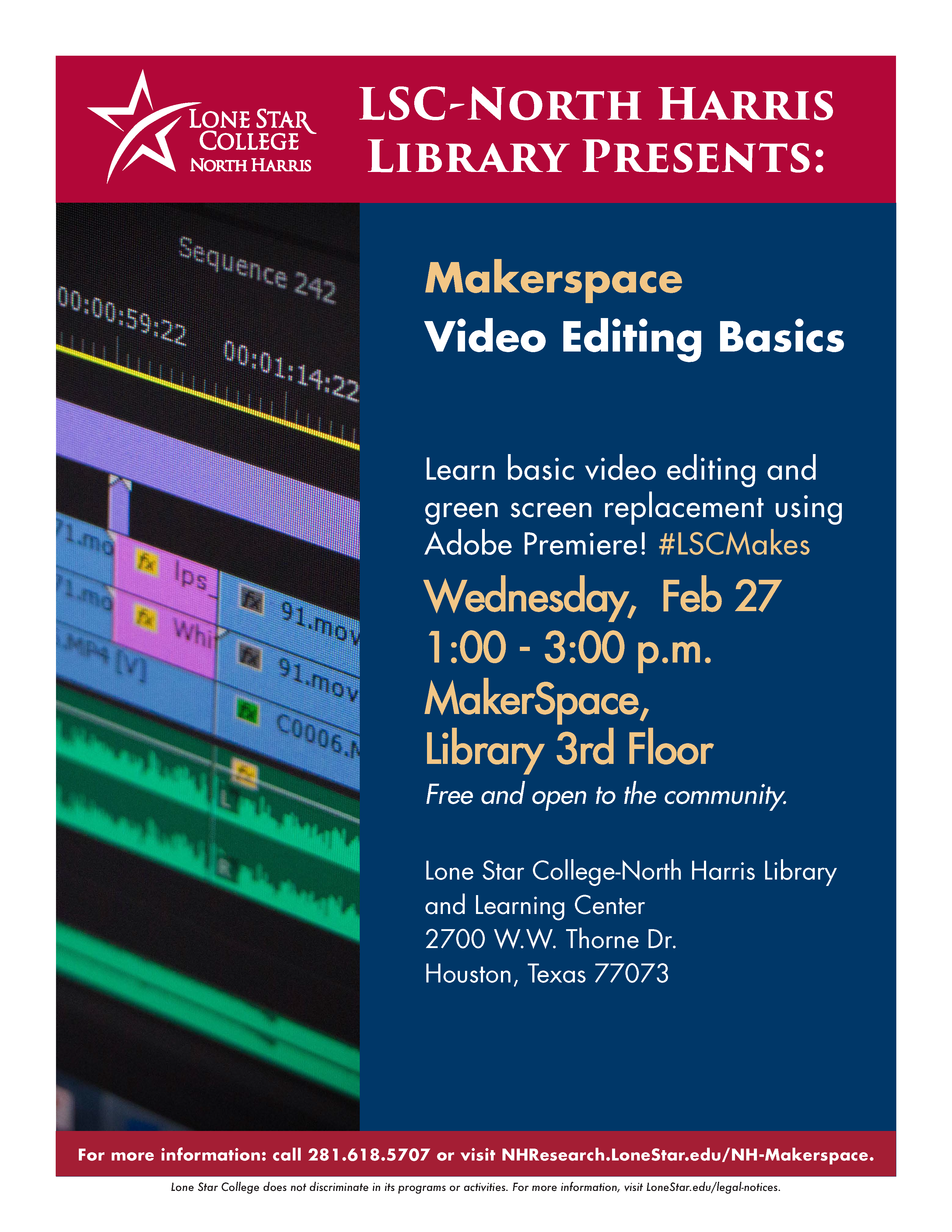 Makerspace :: Video Editing