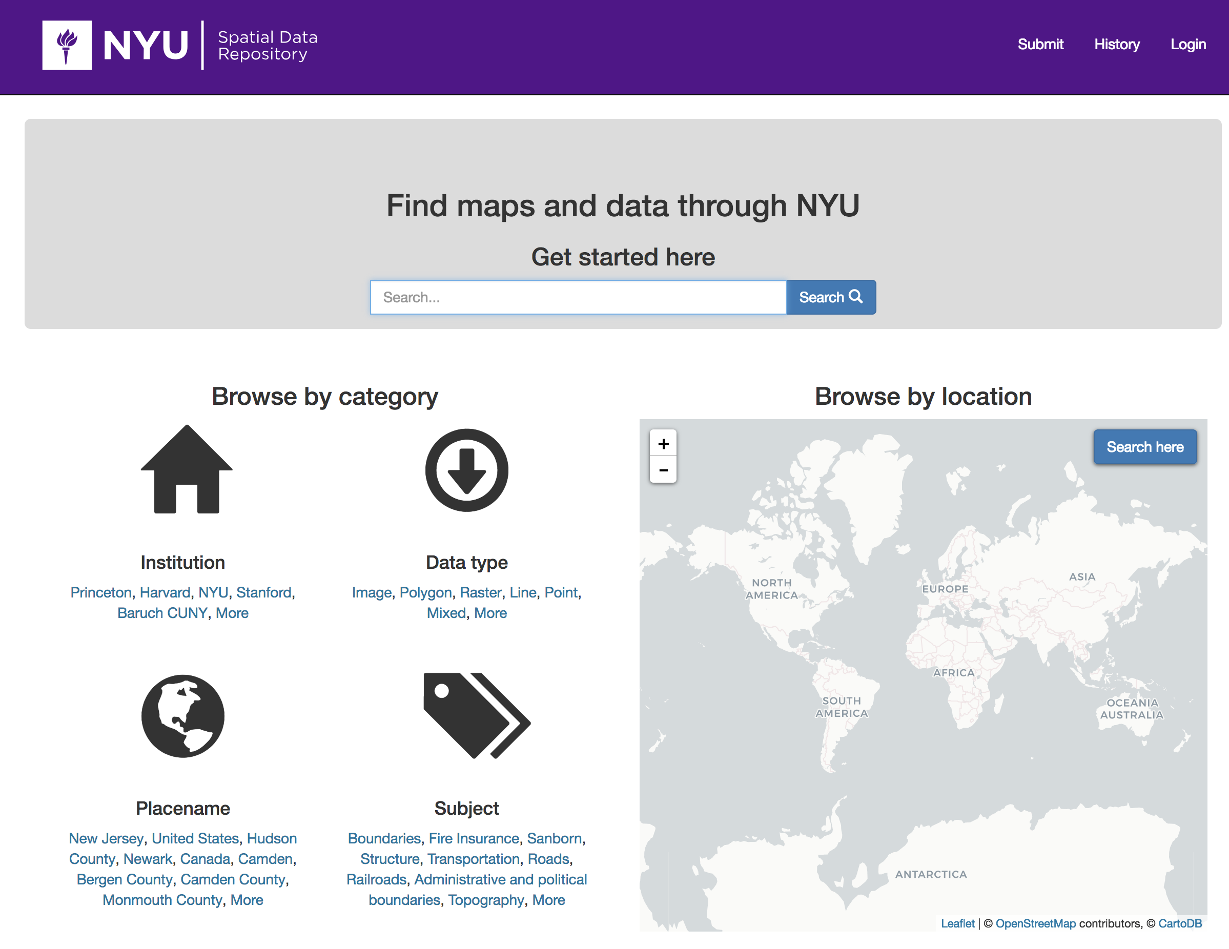 Digital Humanities Meetup: Intro to NYU's Spatial Data Repository