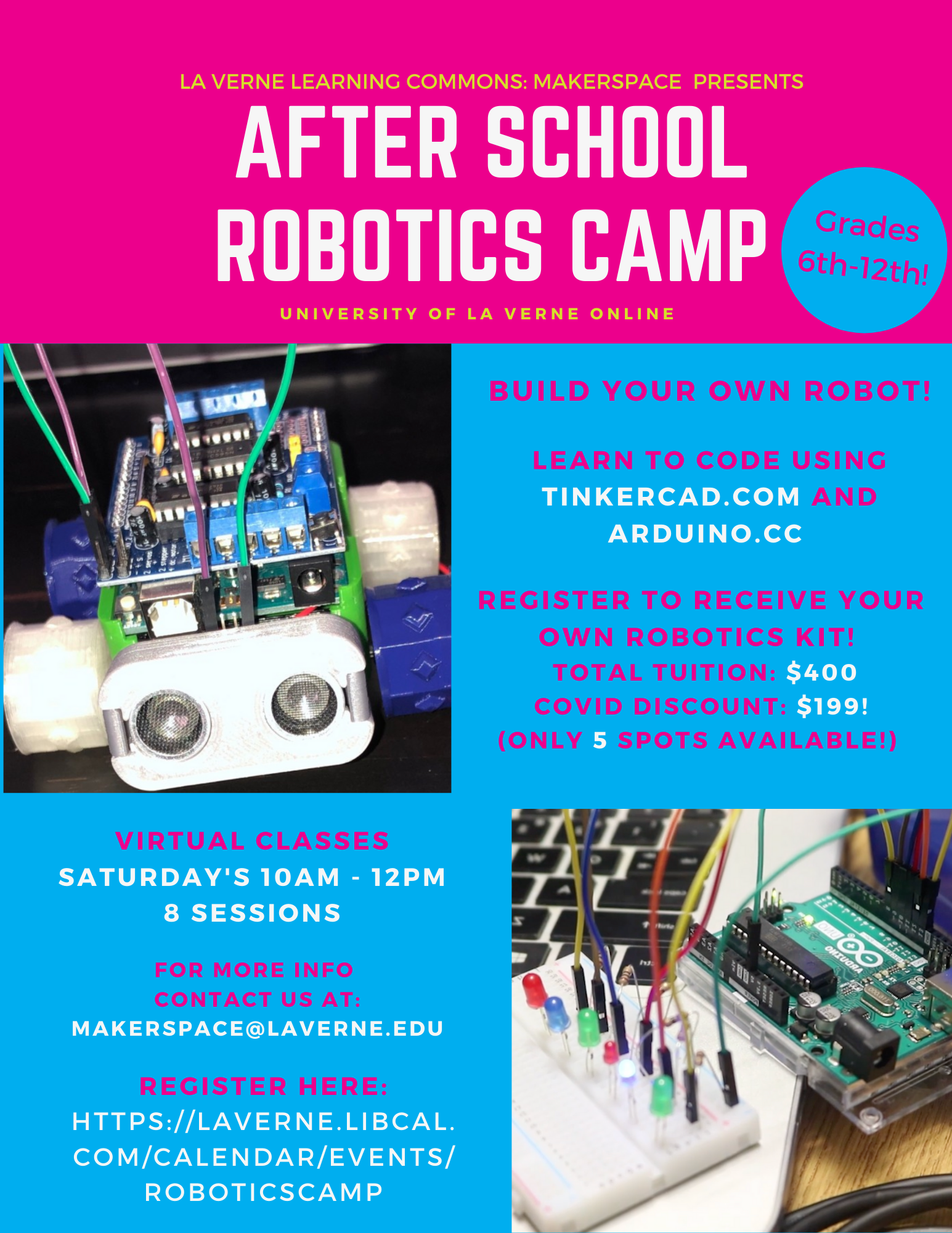 After School Robotics Camp! With Wilson Library Makerspace