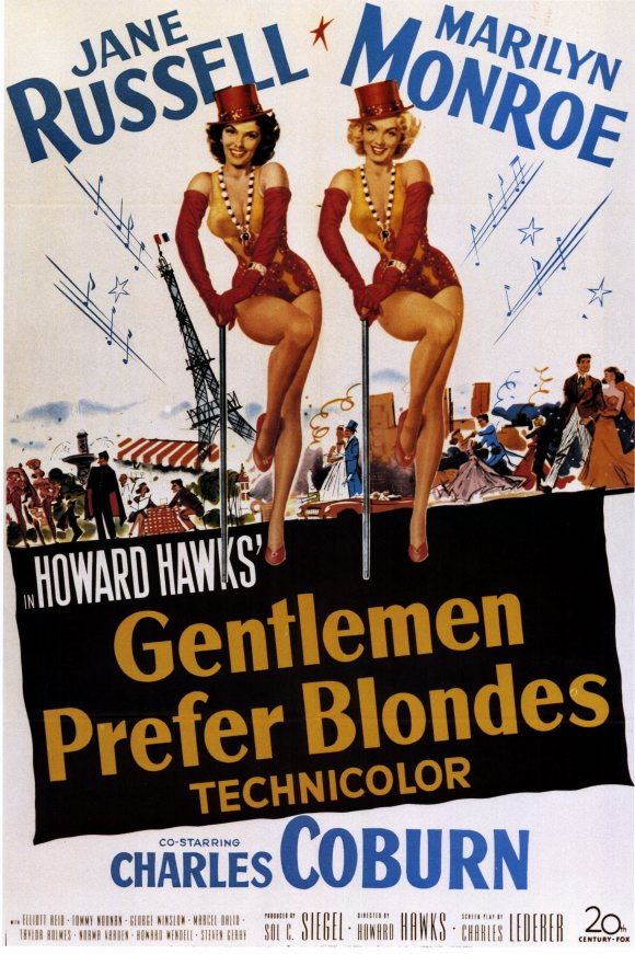 "Spring 2018 CAL Films - ""Gentlemen Prefer Blondes"""