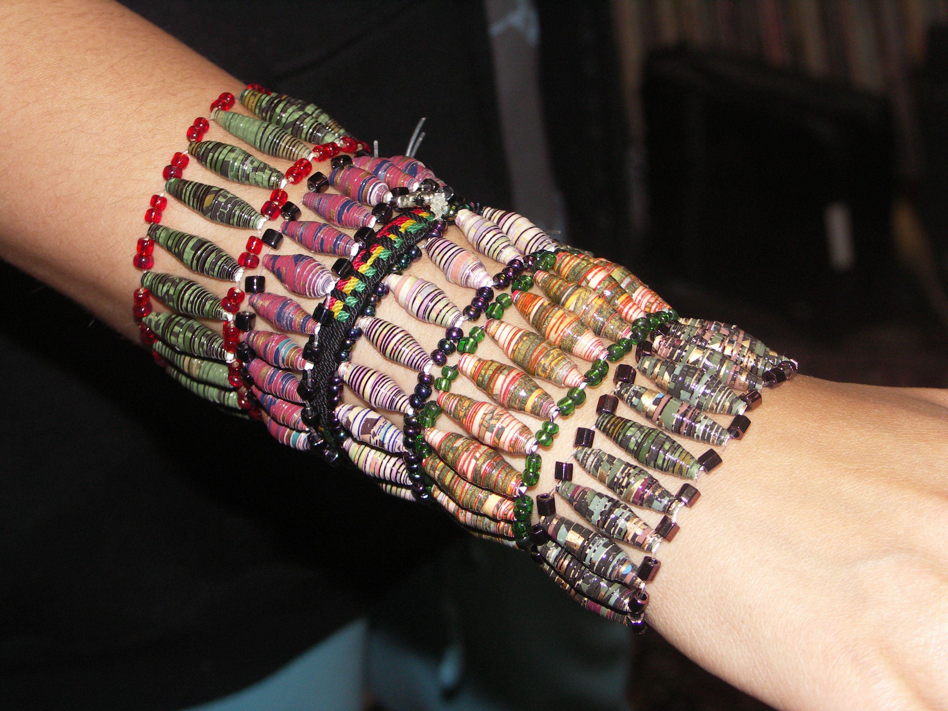 Upcycle Your Paper Part 2: Stretch Bracelets