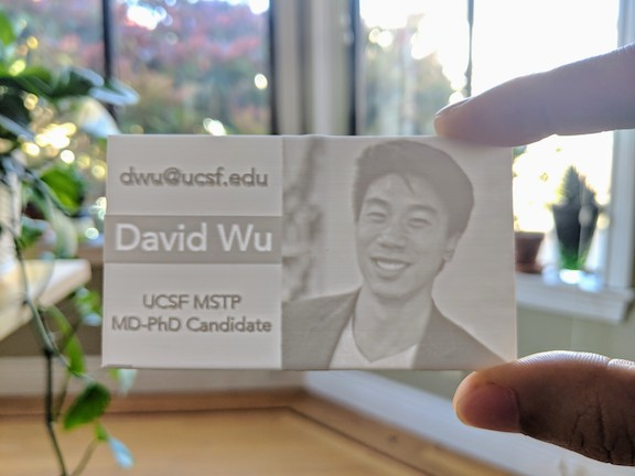3D Print the Ultimate Business Card