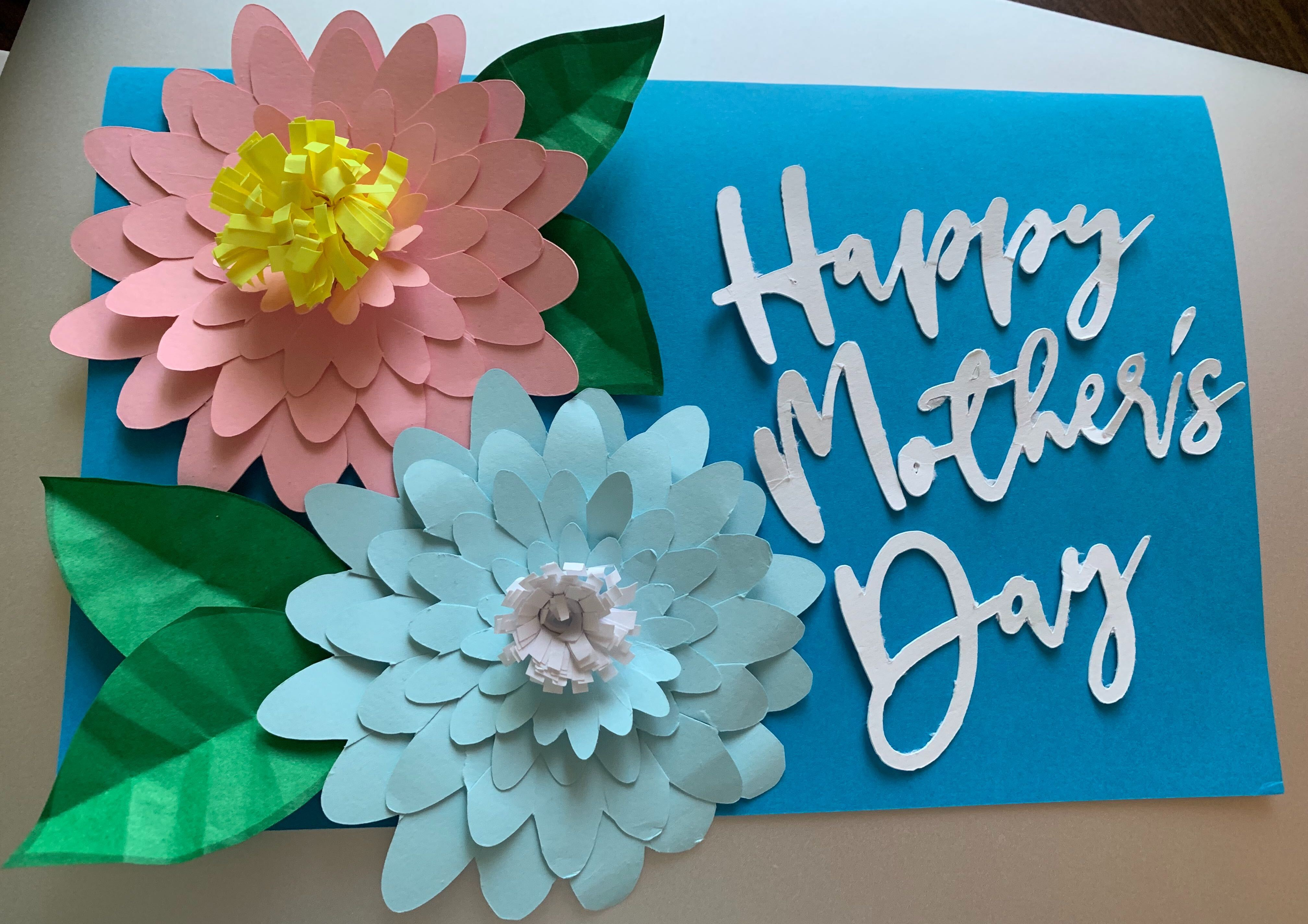 Mother's Day Crafting