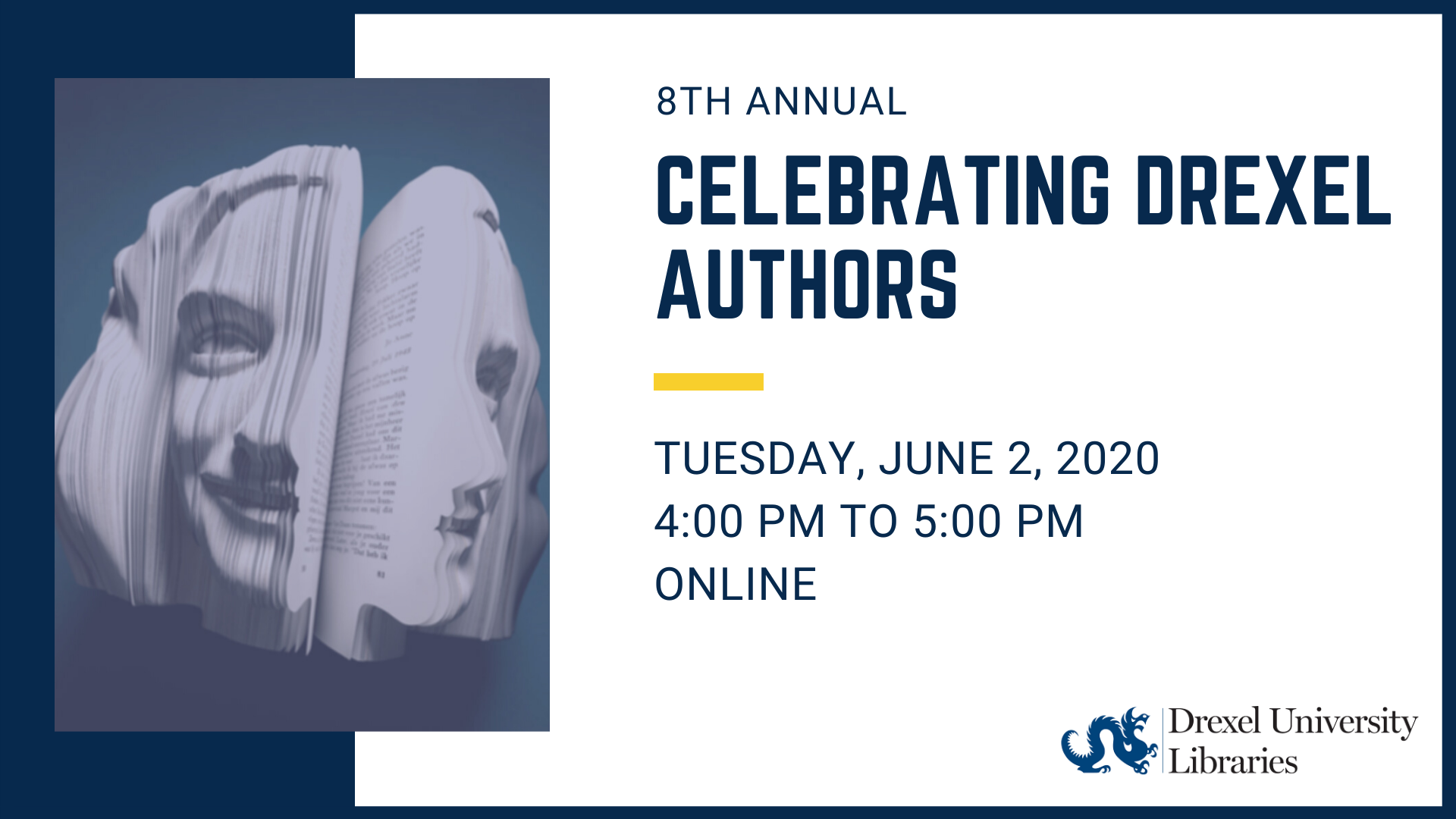 Celebrating Drexel Authors - Online Event