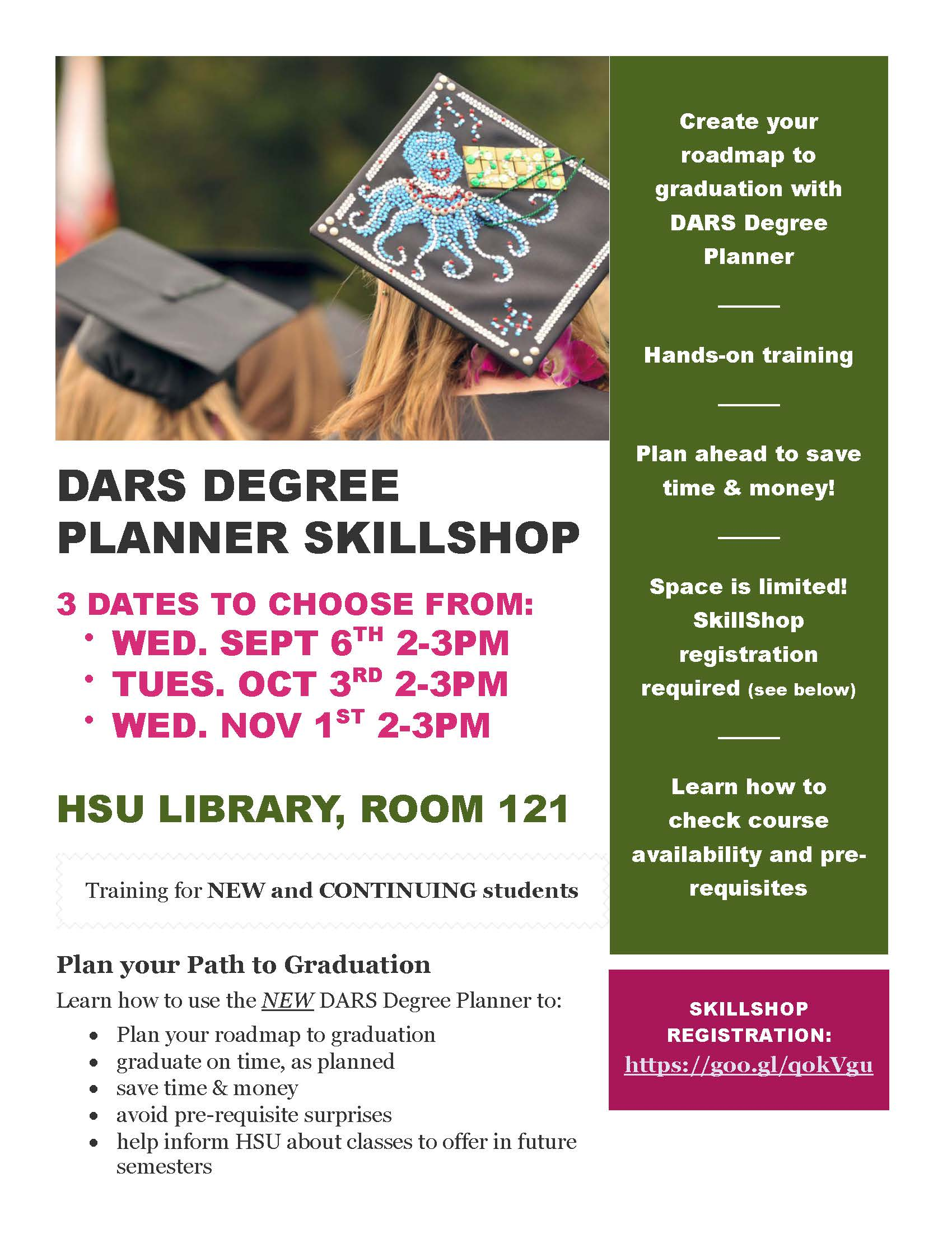 Plan Your Path to Graduation: DARS Degree Planner