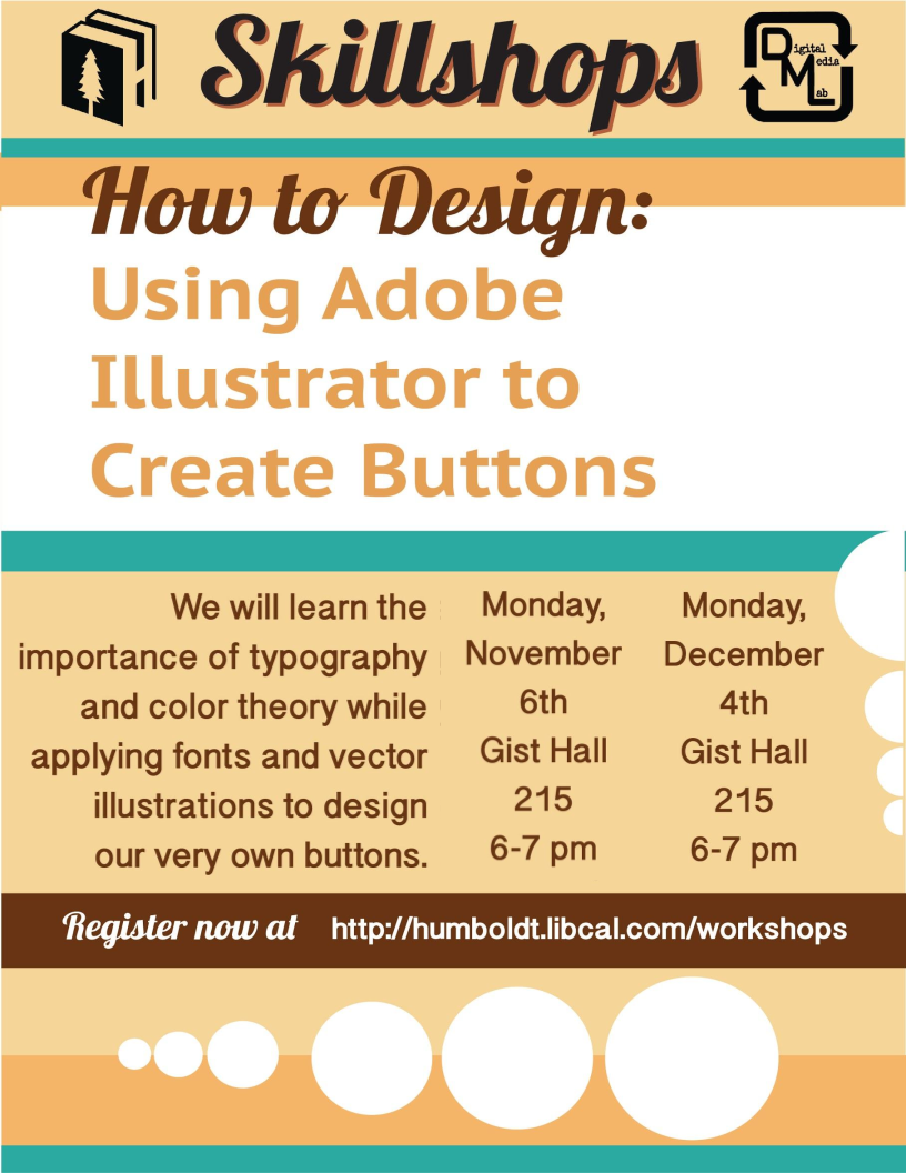 How to Design: Using Adobe Illustrator to Create Buttons