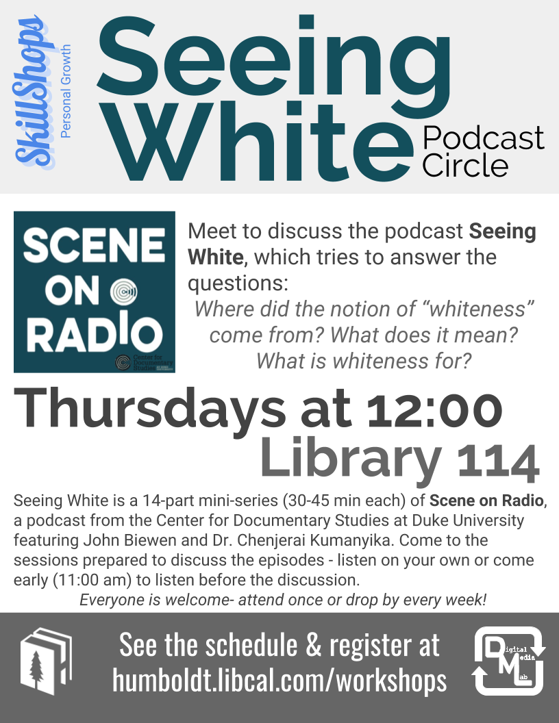 Seeing White Podcast Circle pts 6 & 7