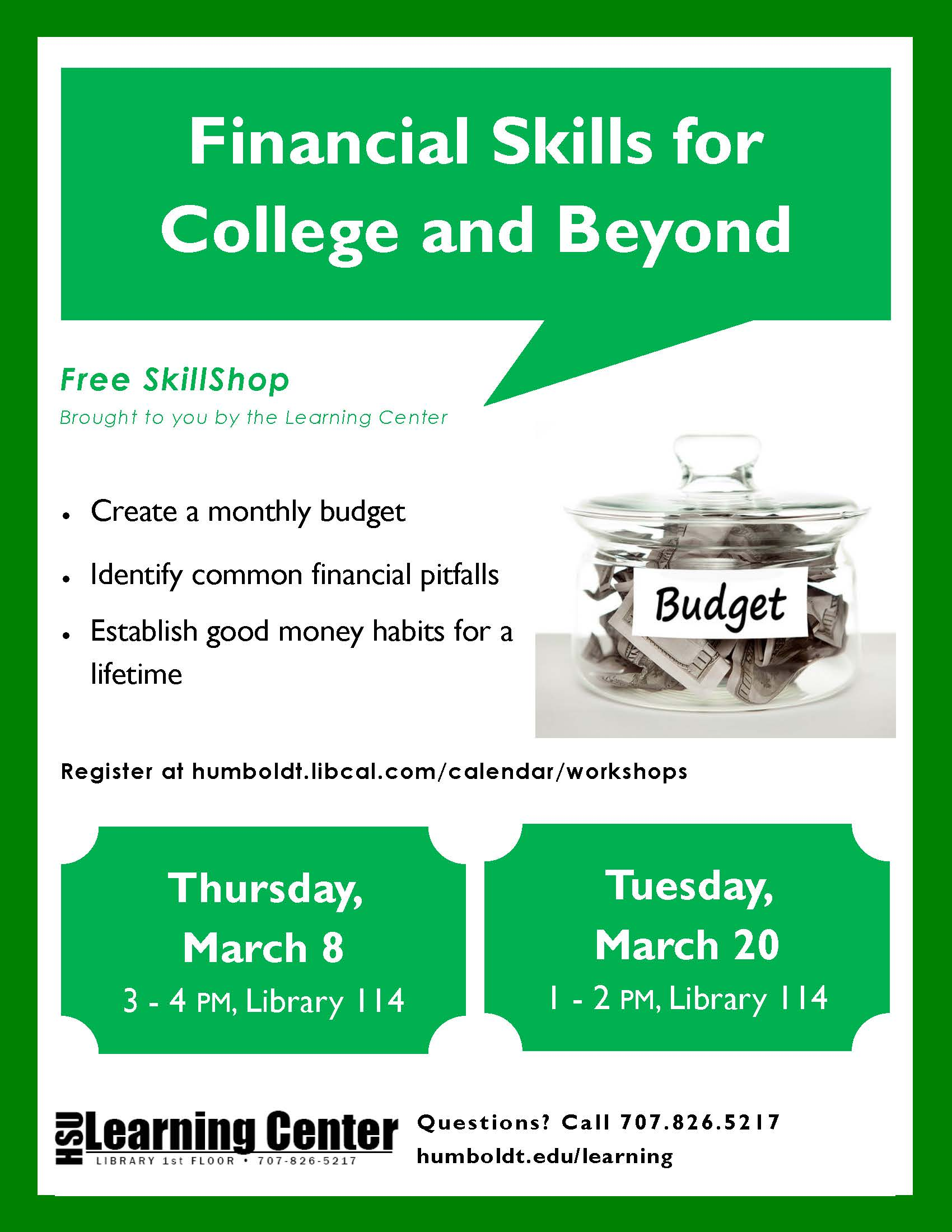 Financial Skills for College and Beyond
