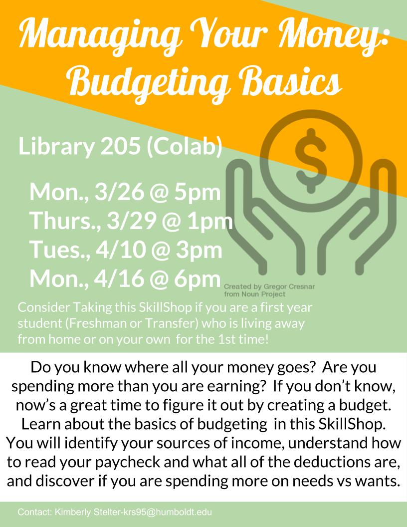 Managing Your Money: Budgeting Basics