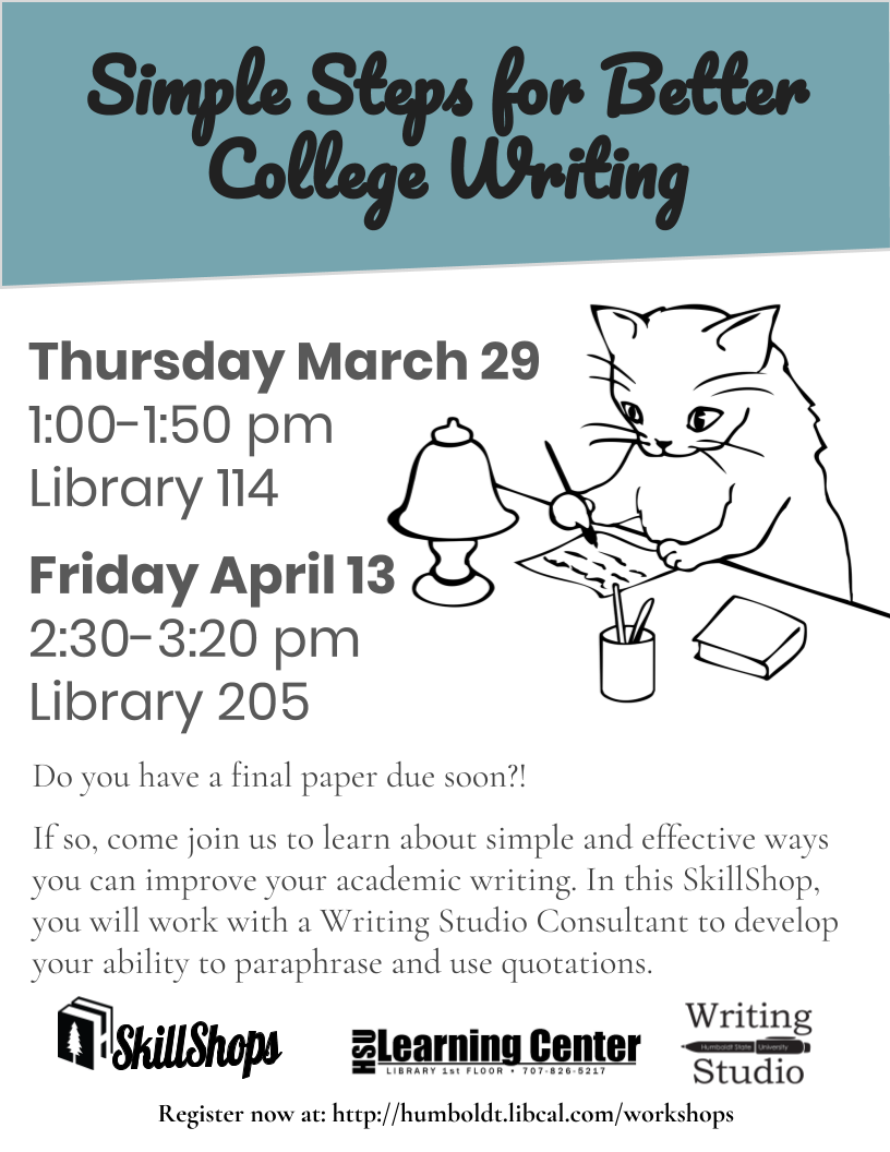 Simple Steps for Better College Writing
