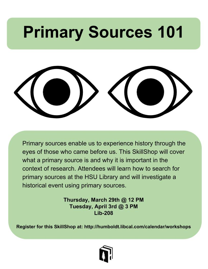 Primary Sources 101