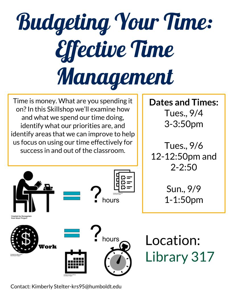 Budgeting Your Time: Effective Time Management