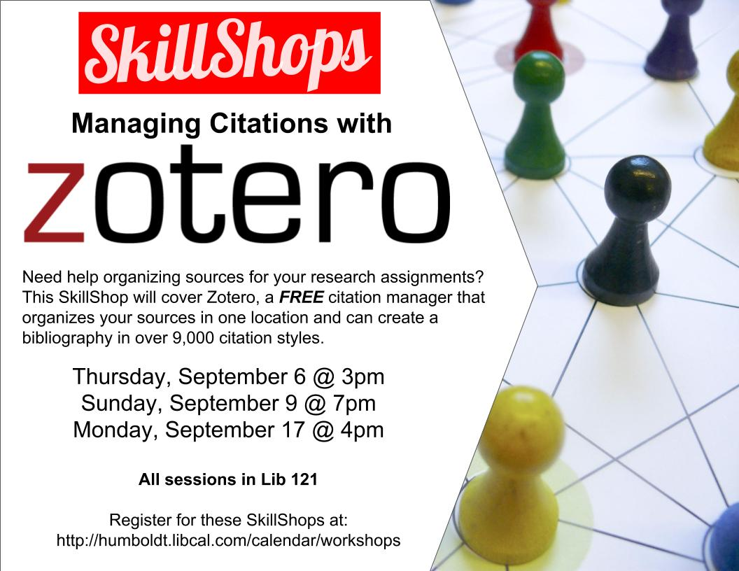 Managing Citations with Zotero