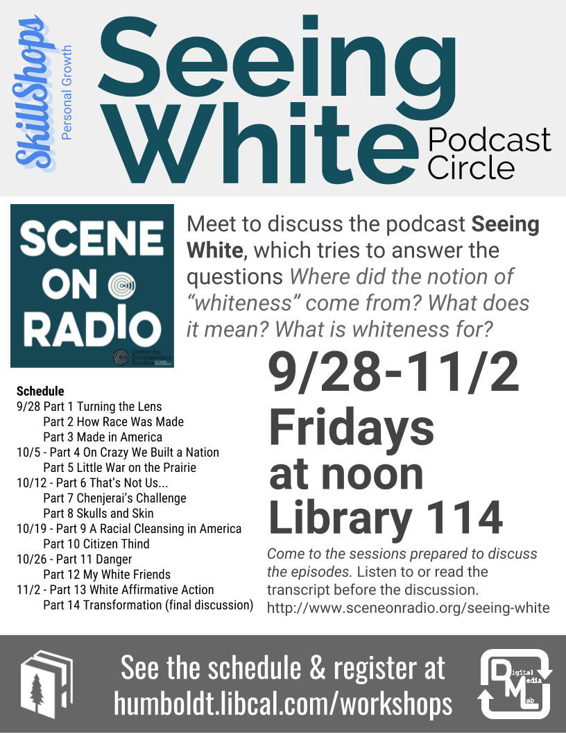 Seeing White Podcast Circle
