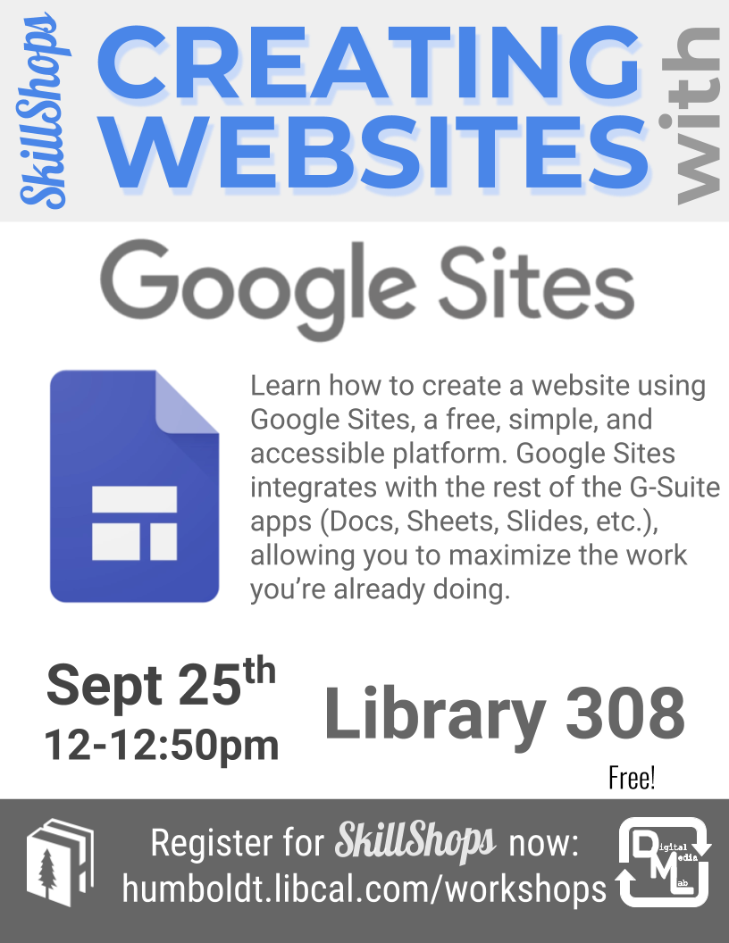Creating Websites with Google Sites
