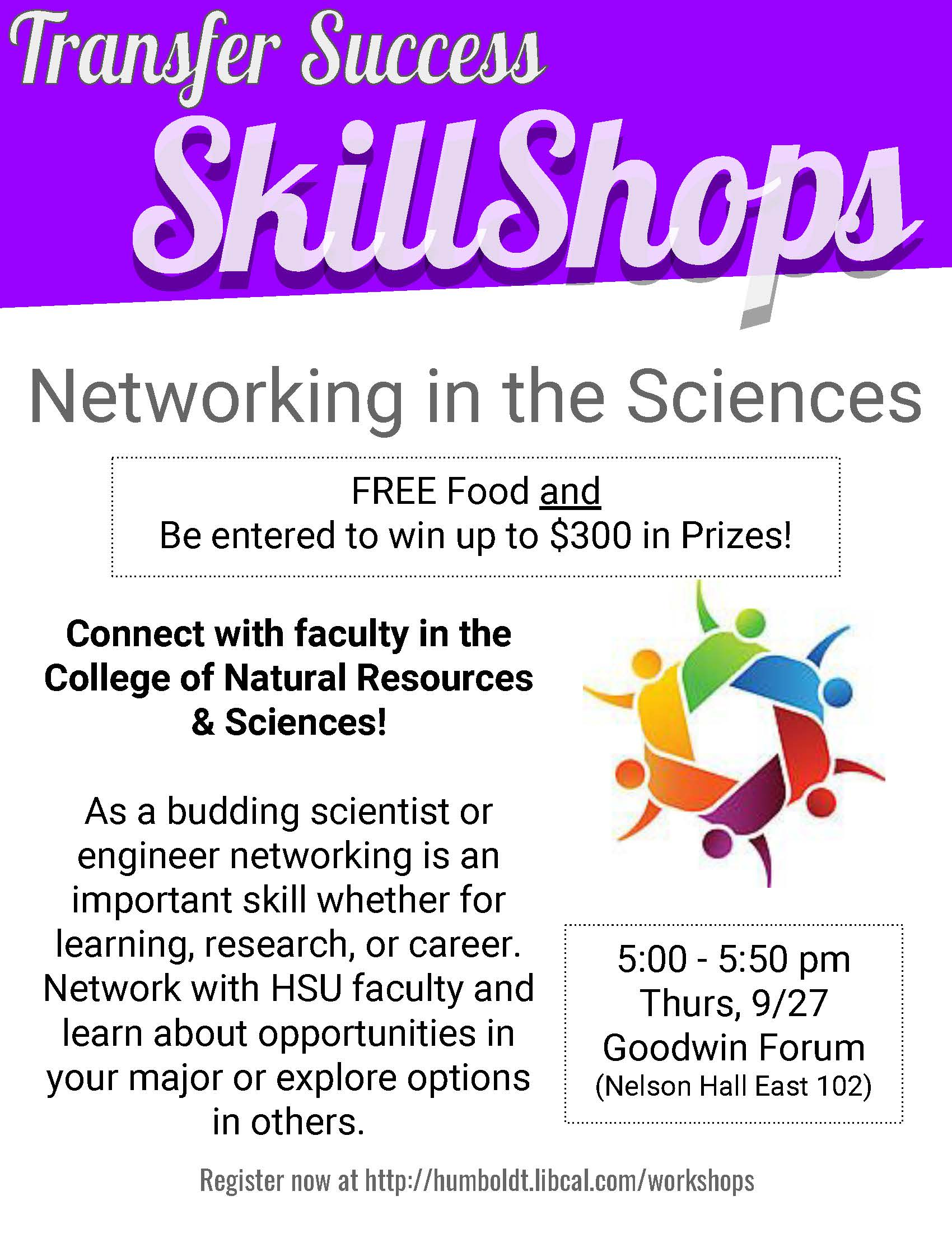 Transfer Success: Networking in the Sciences