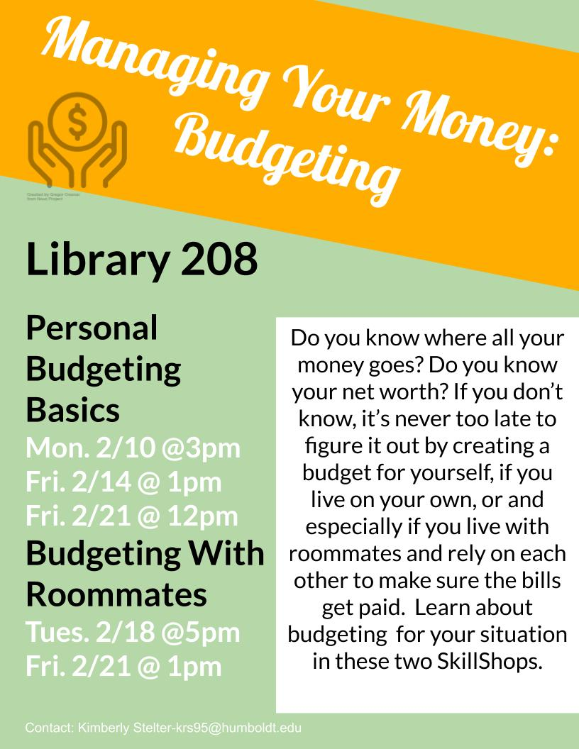 Budgeting with Roommates