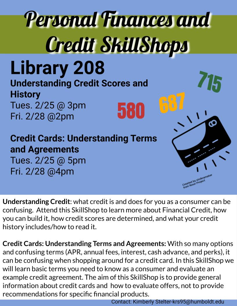 ***CANCELLED***  Credit Cards: Understanding Terms and Agreements
