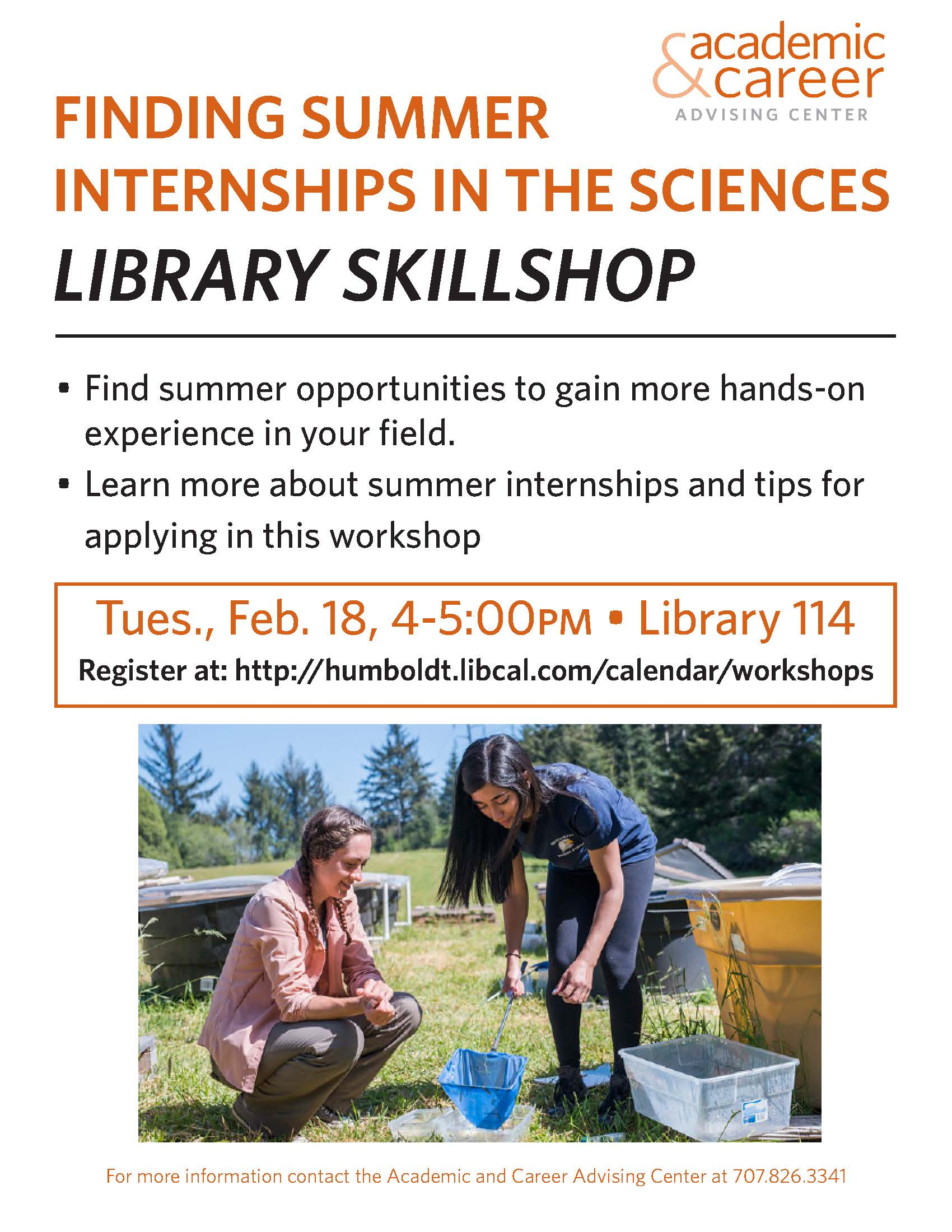 Internships in the Sciences