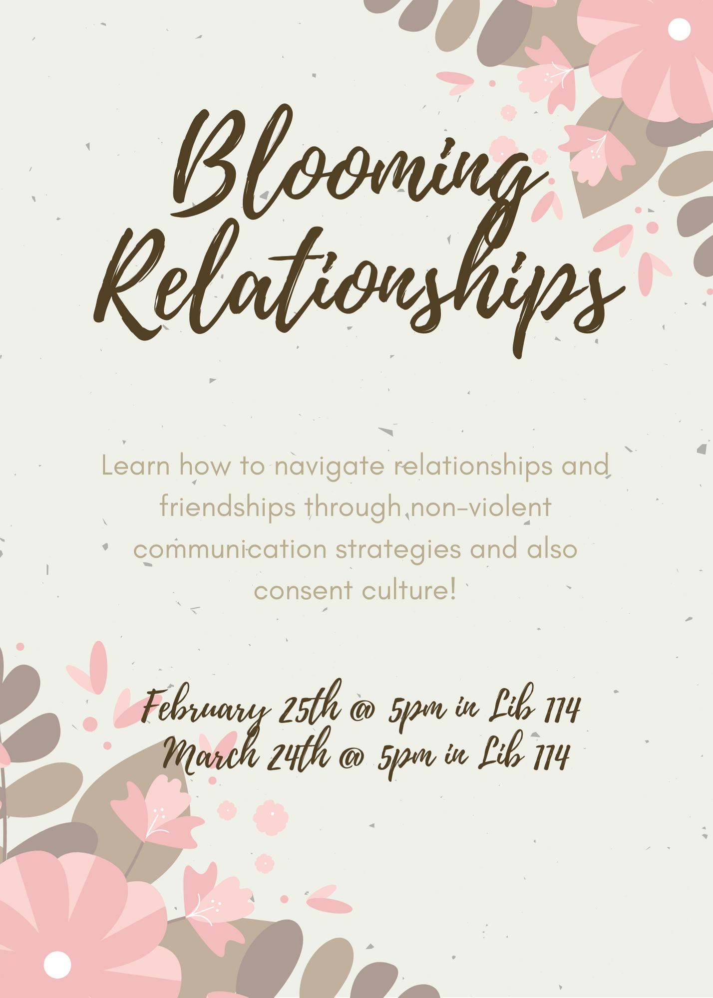 Blooming Relationships