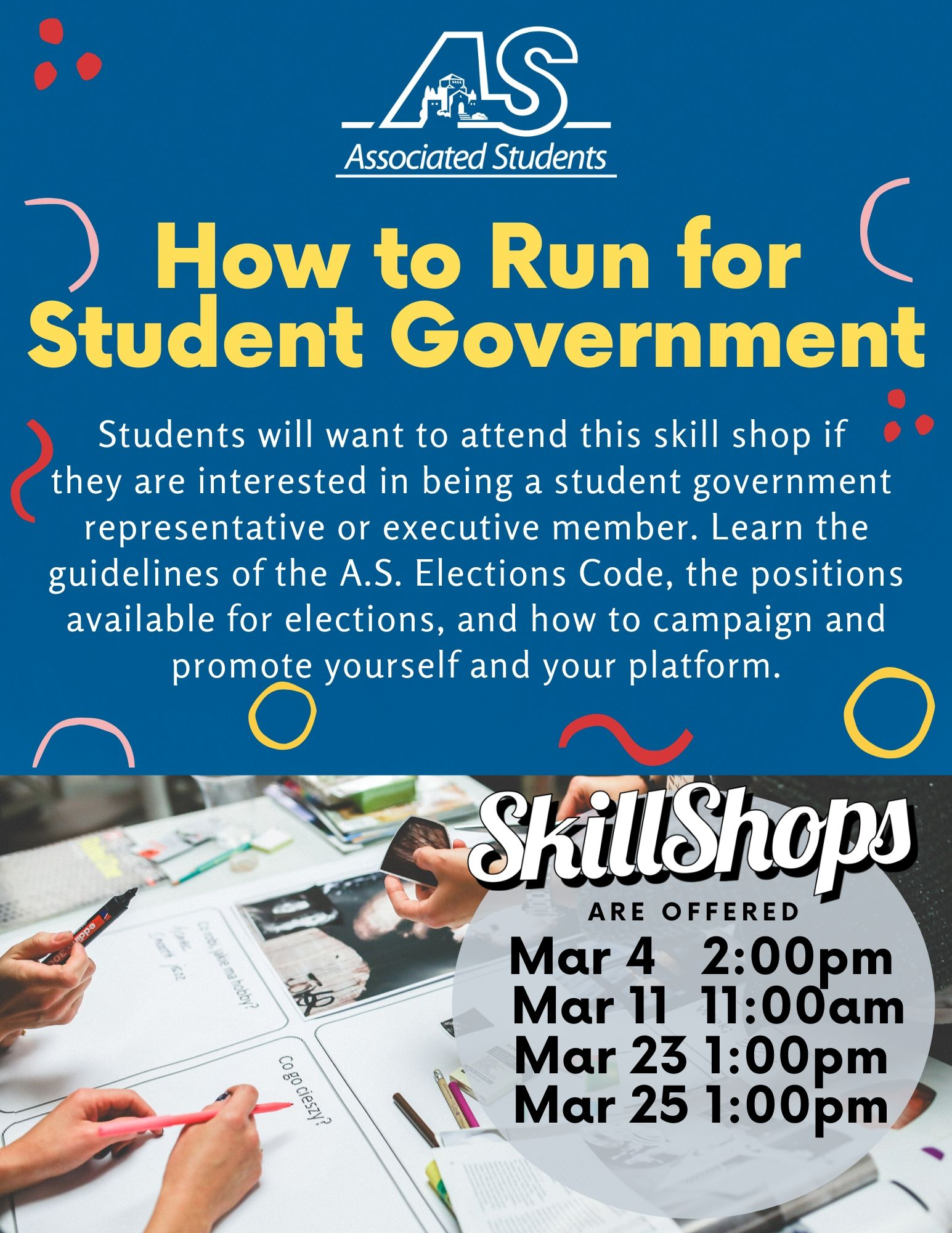 How to Run for Student Government
