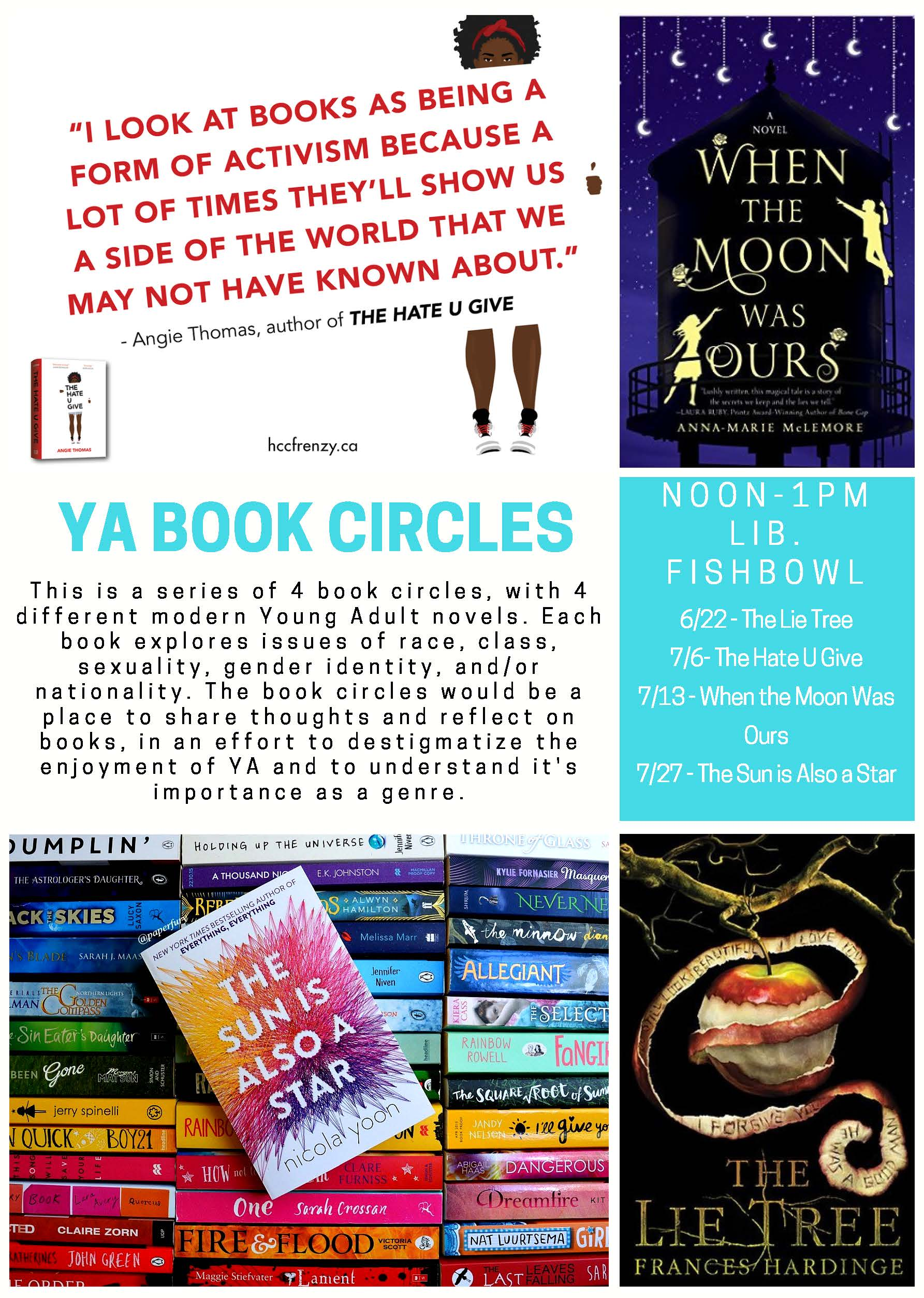 YA Book Circles - Social Justice in Young Adult Literature