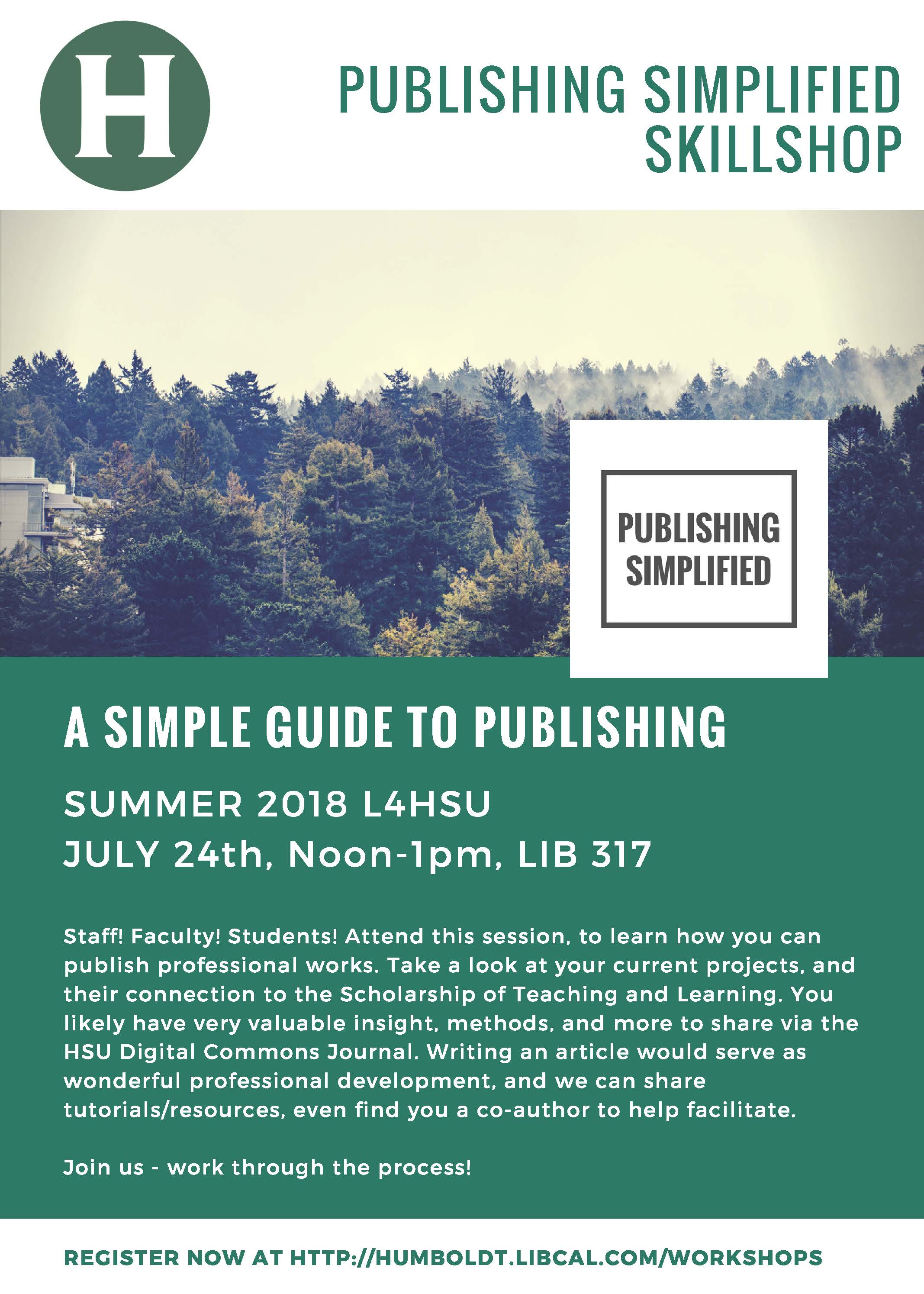 Publishing Simplified - For Staff