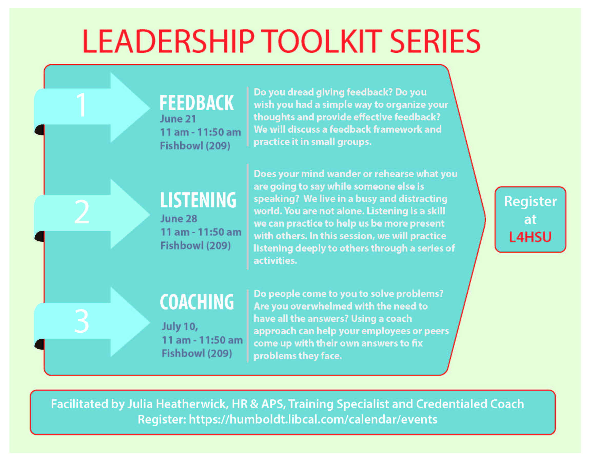 Leadership Toolkit Series: A Coach Approach