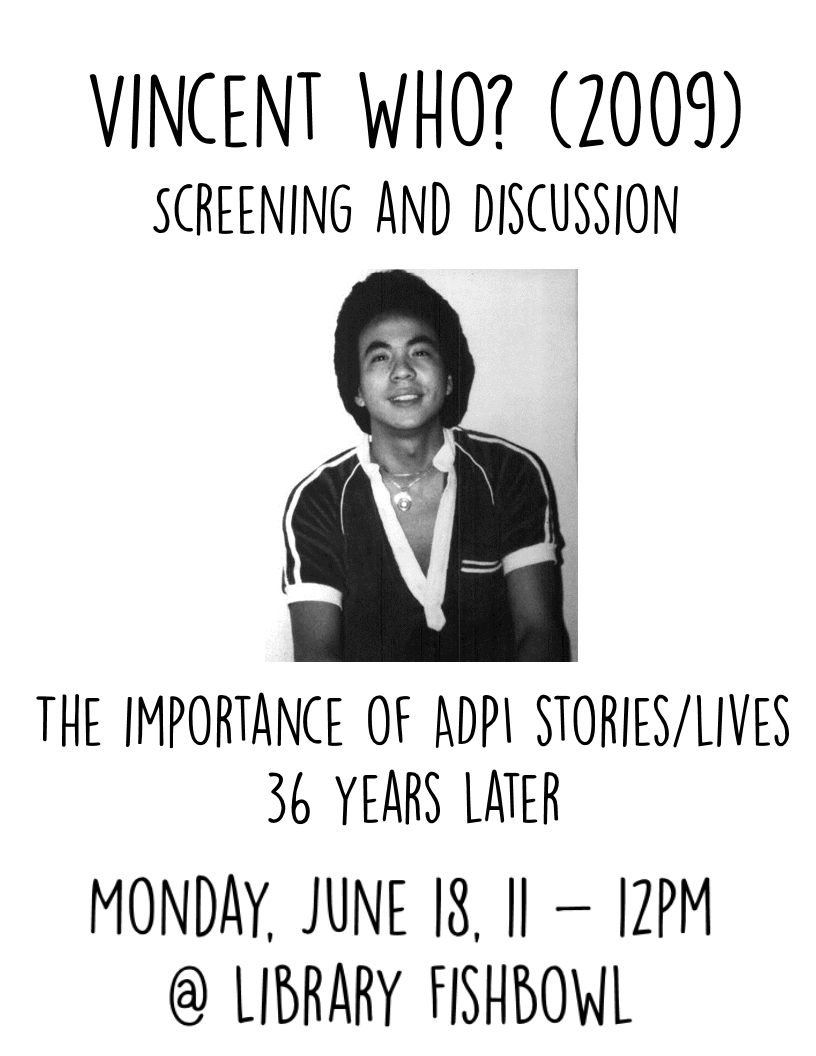 Remembering Vincent Chin - 1955 - 1982