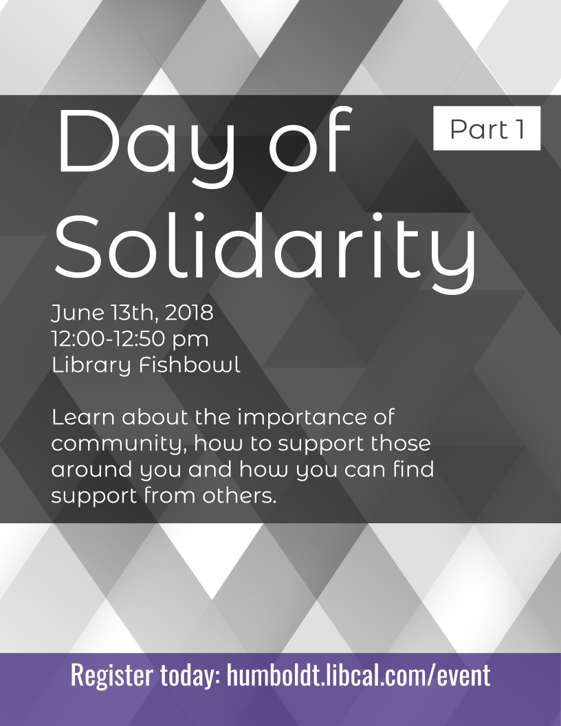 Day of Solidarity, Part 1