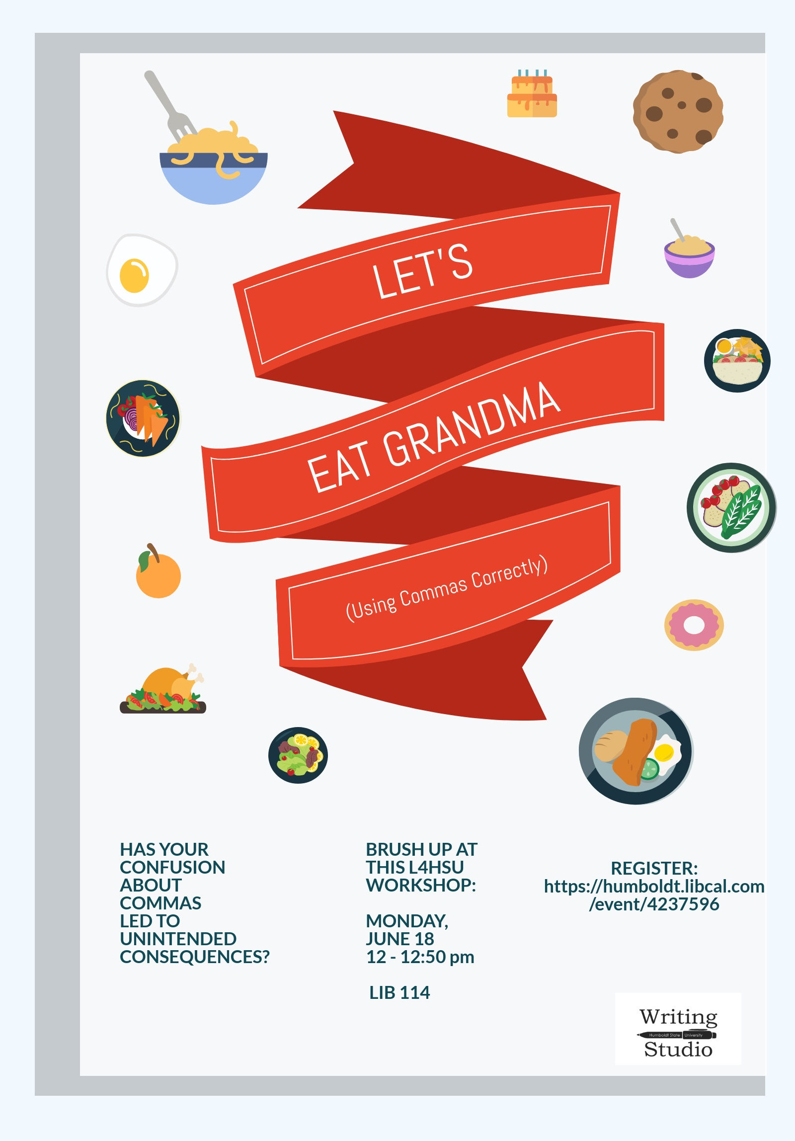 Let's Eat Grandma: Using Commas Correctly