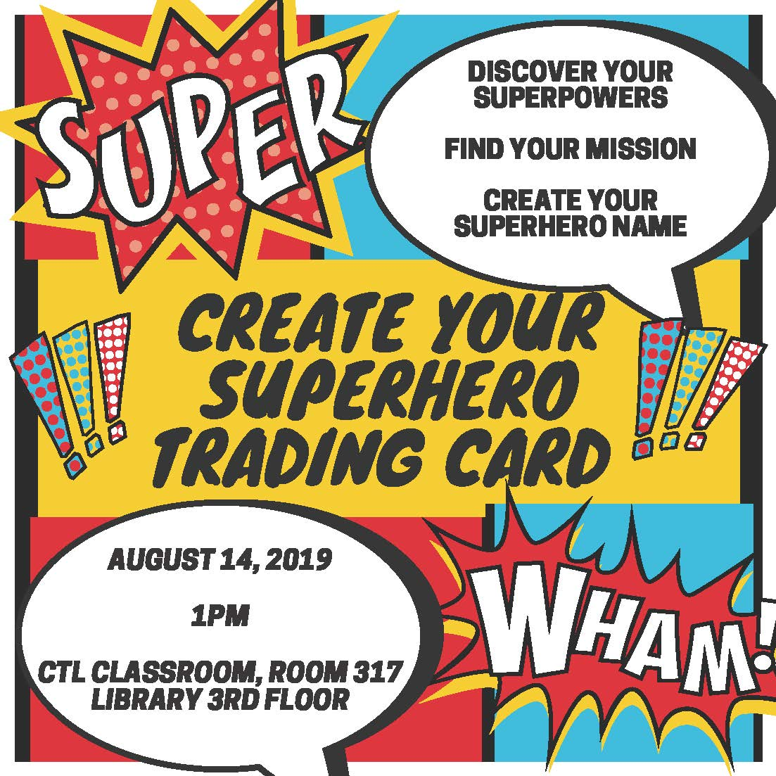Create Your Superhero Trading Card