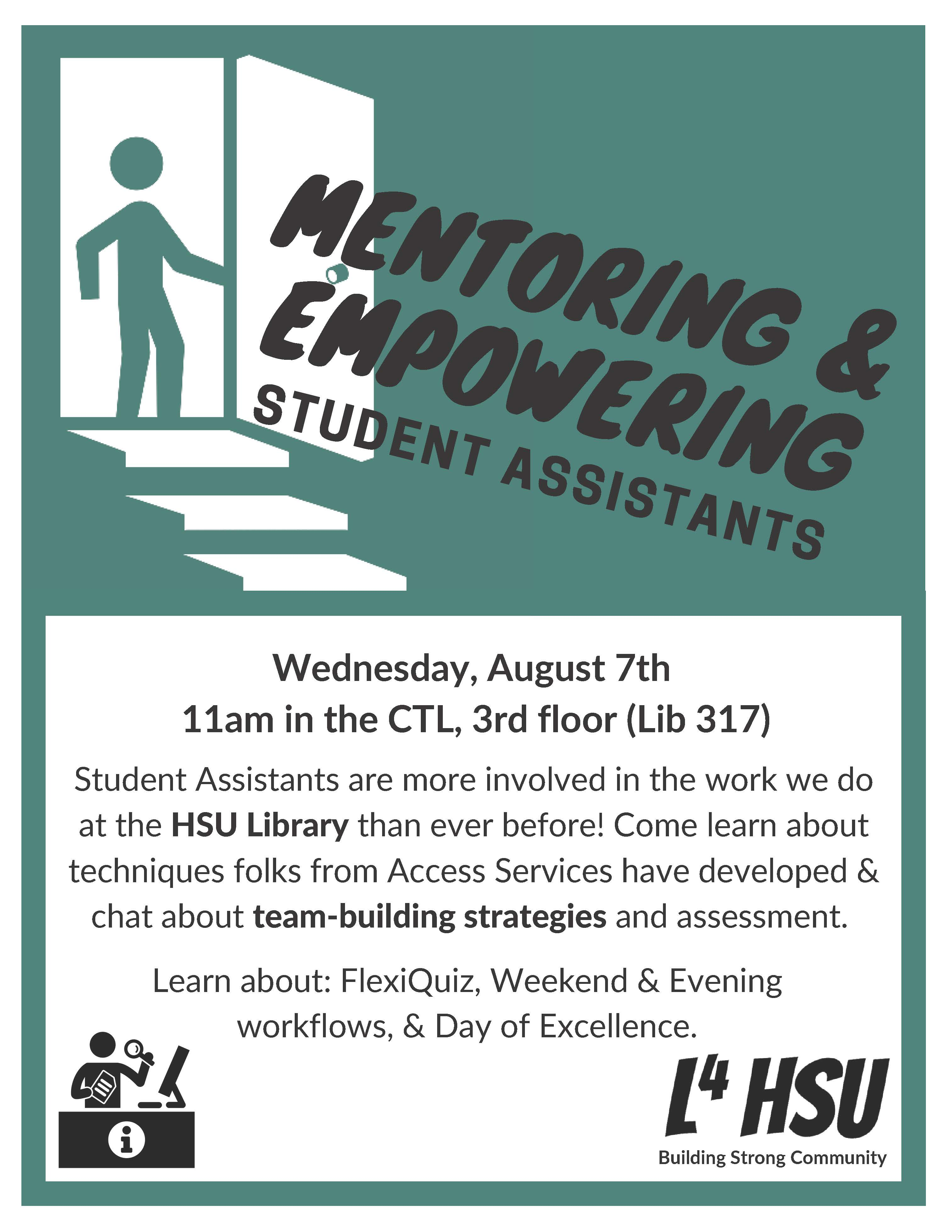 Mentoring & Empowering Student Assistants