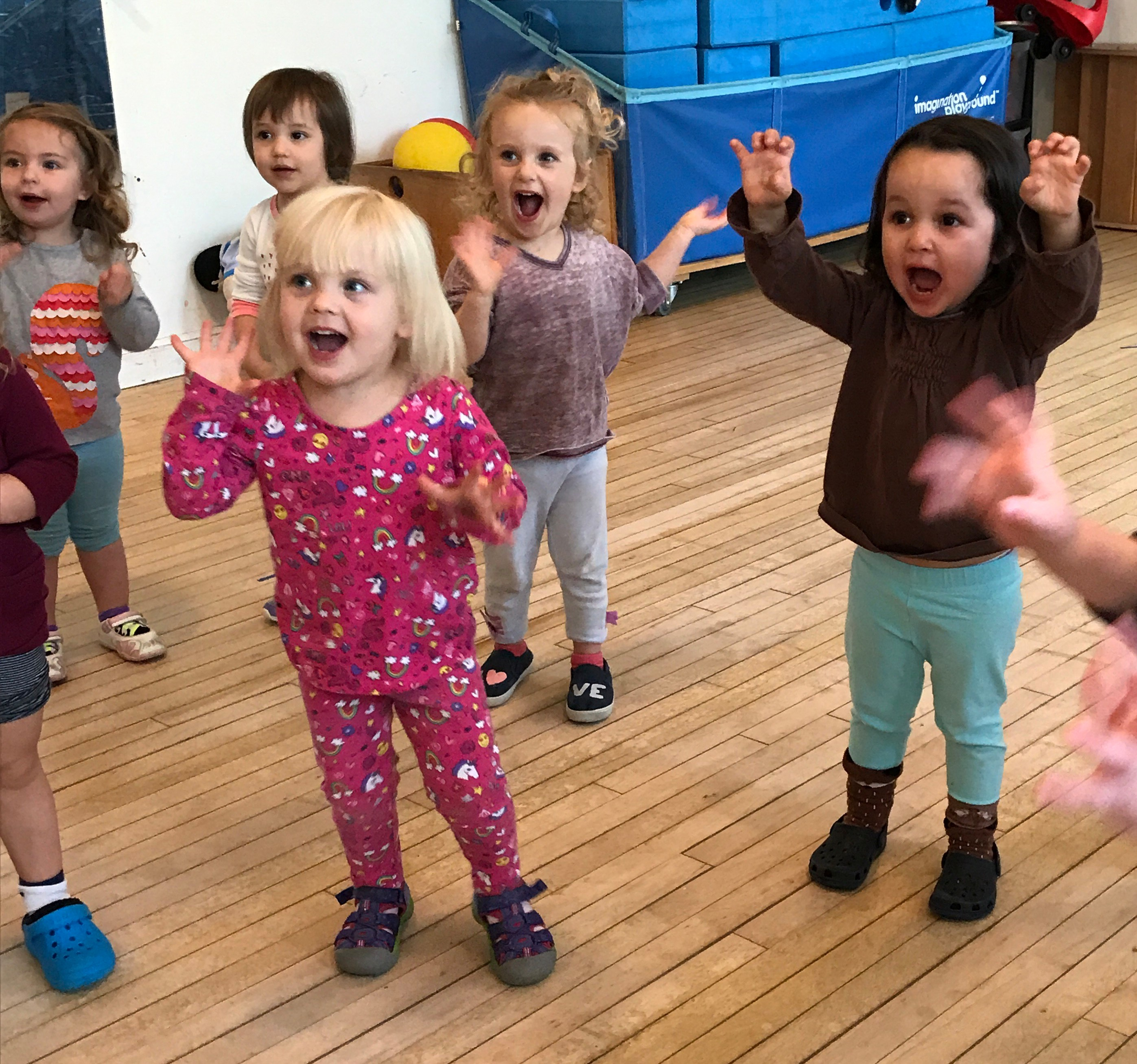 Creative Movement and Drama for Toddlers: Valley Performance Playground's Movers and Shakers class comes to the library