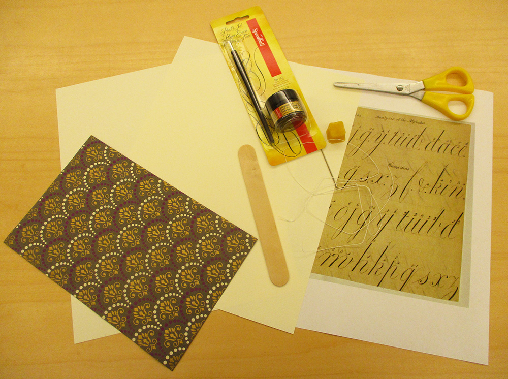Pick Up the Kit for the Bookmaking Workshop