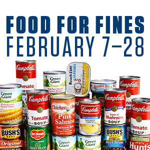 Food for Fines | Feb. 7—28