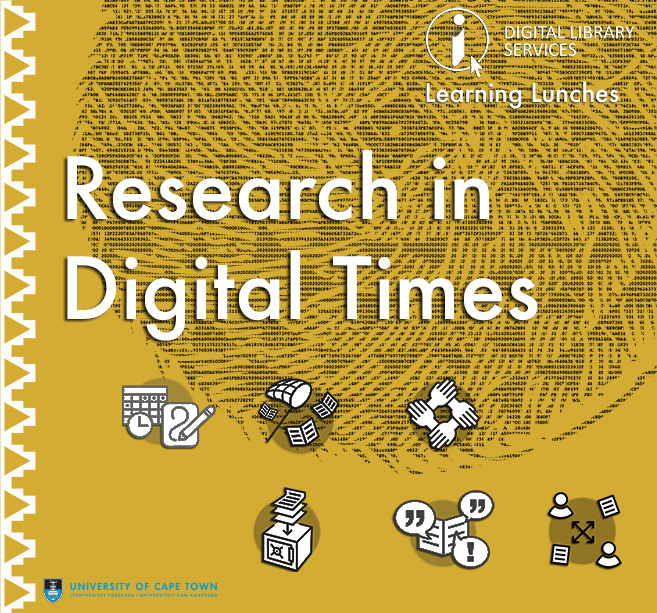 Research in Digital Times: Manage and Store your Data
