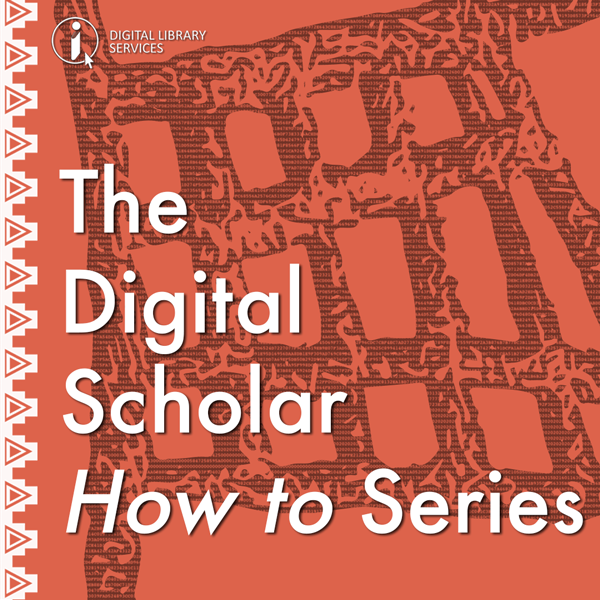ONLINE: Digital Scholar Plus: How do I share my research data?