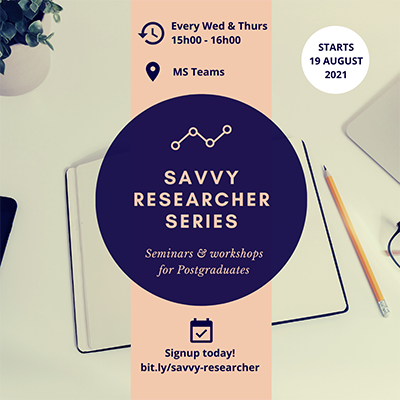 ONLINE: Systematic Review - Savvy Researcher Series